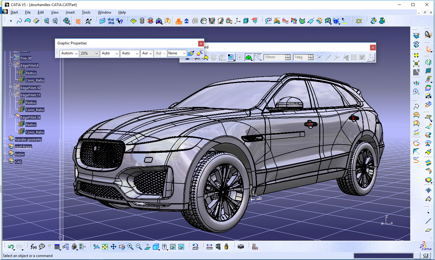 Jaguar F-pace Alias/dynamo/catia Tutorial- breakdown on Behance