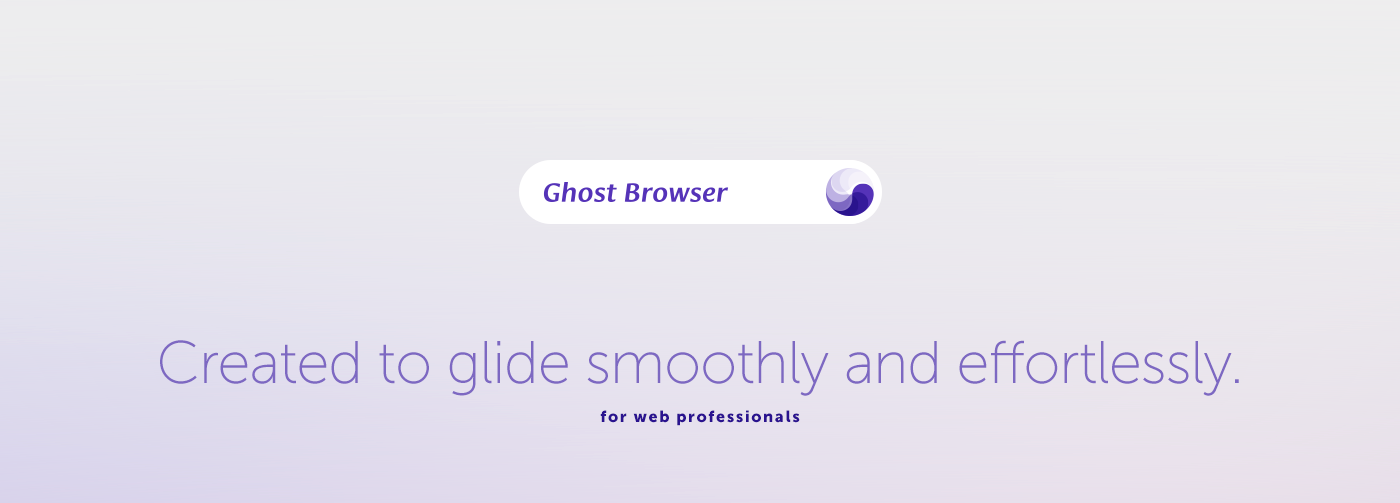 Ghost Browser on Behance