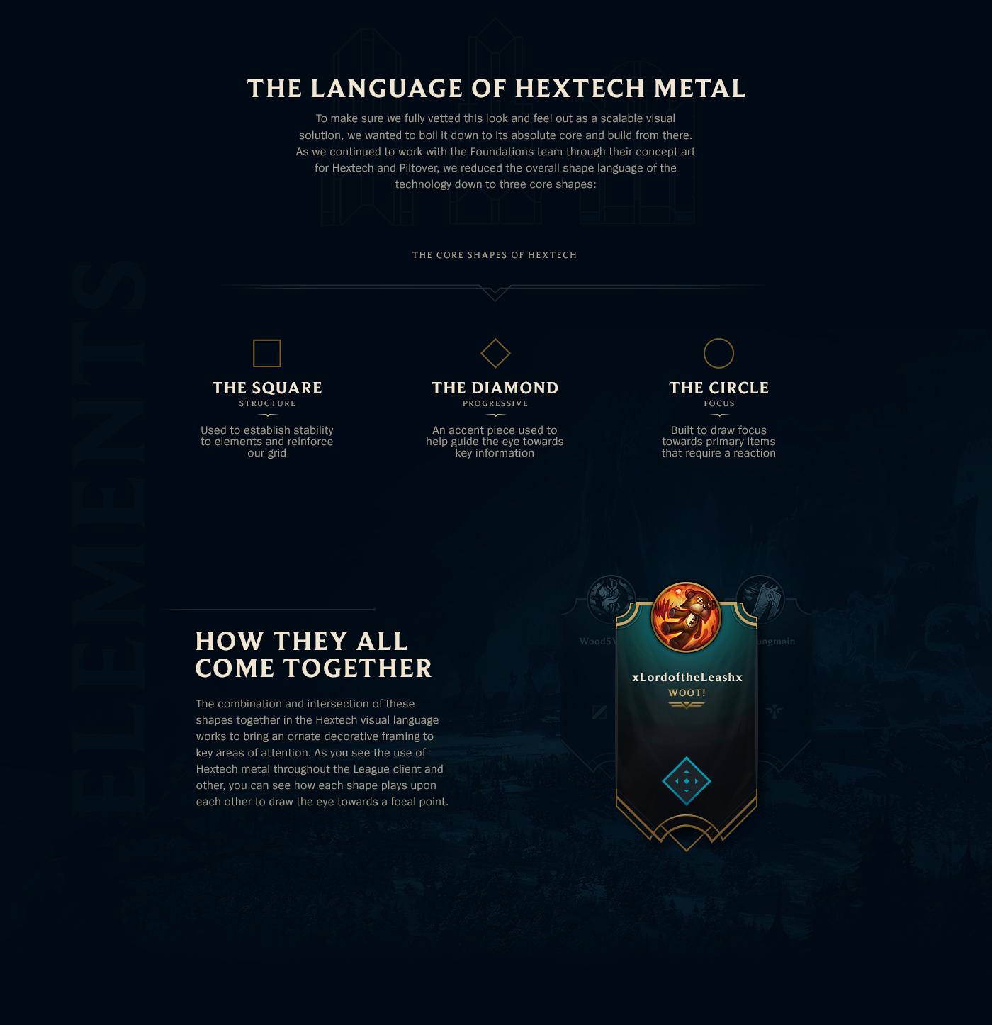 League of Legends Hextech Visual Identity on Behance