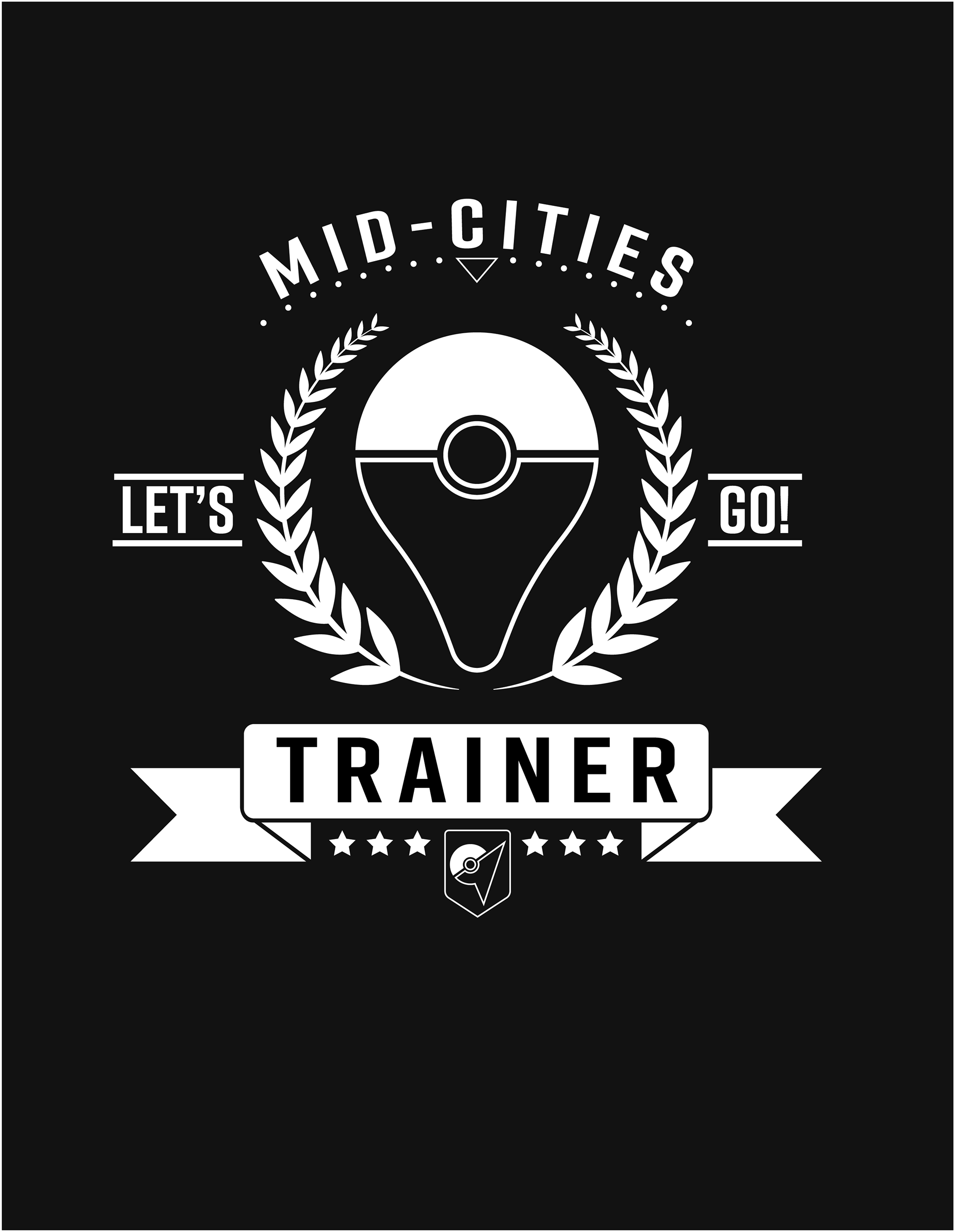 2c76234c T-Shirt Design: Mid-Cities Pokemon Go Group on Behance