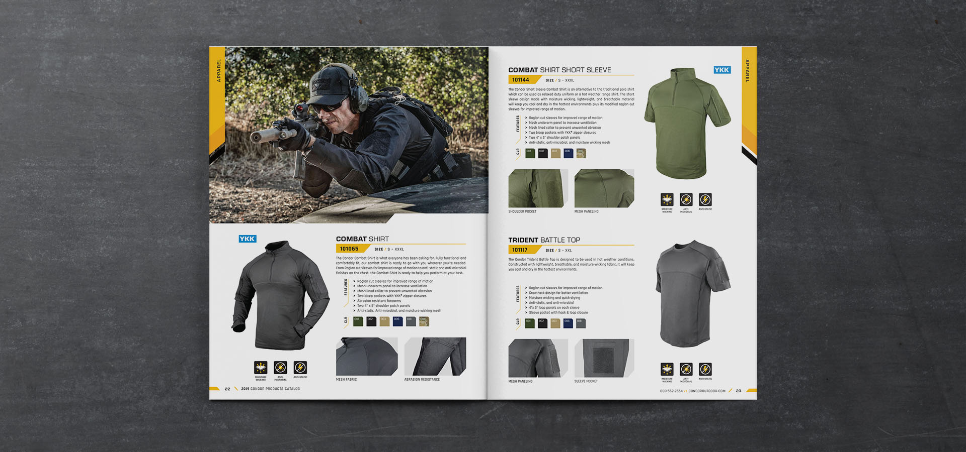 Condor Outdoor Products Catalog 2019 on Behance