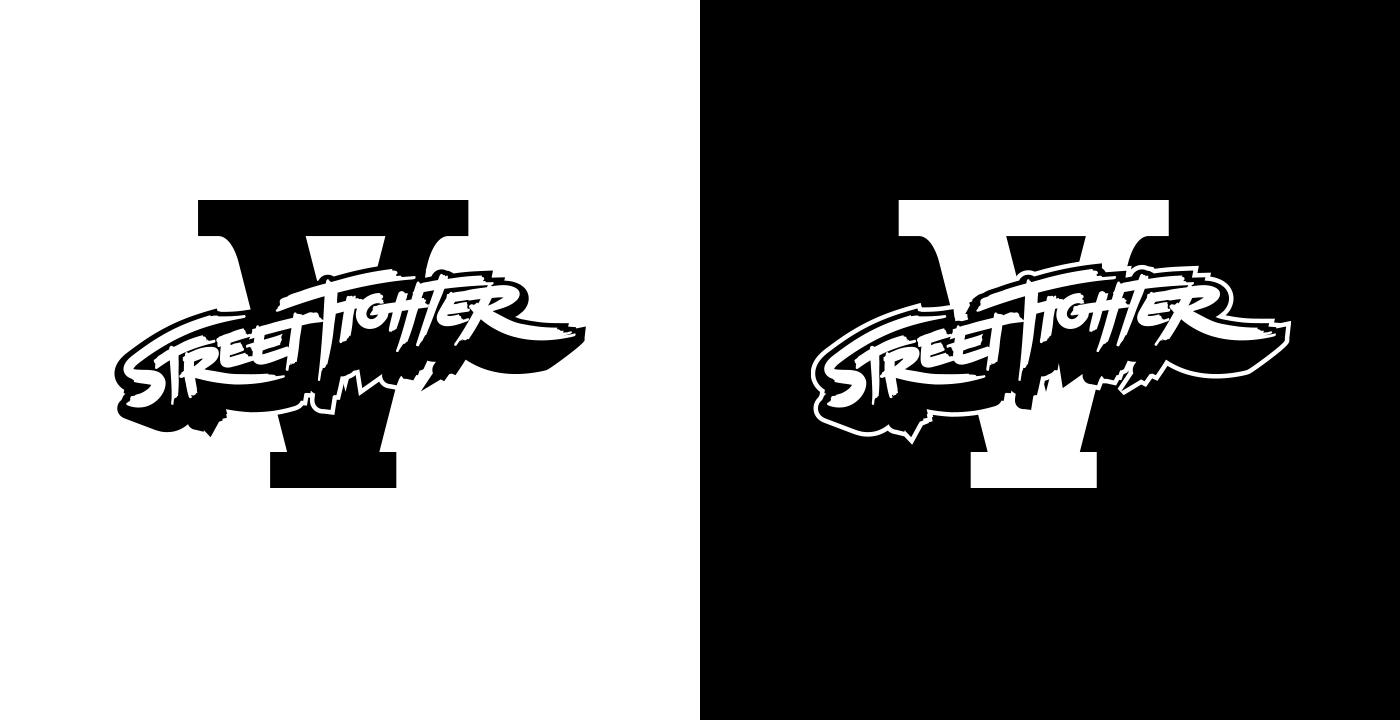 Street Fighter V Logo On Behance