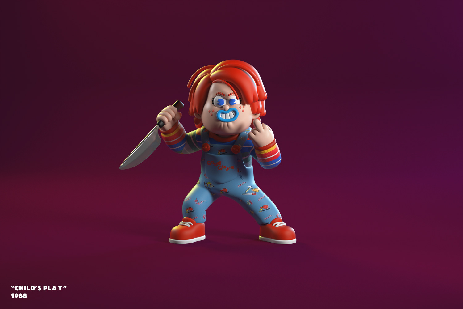 Halloween Characters Illustrations by El Grand Chamaco