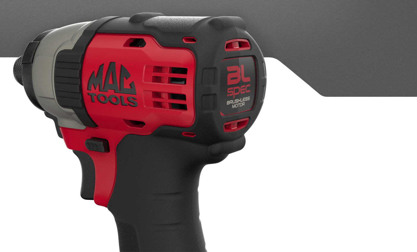 MAC Tools 20v Max BL Spec Impact Driver & Impact Wrench on