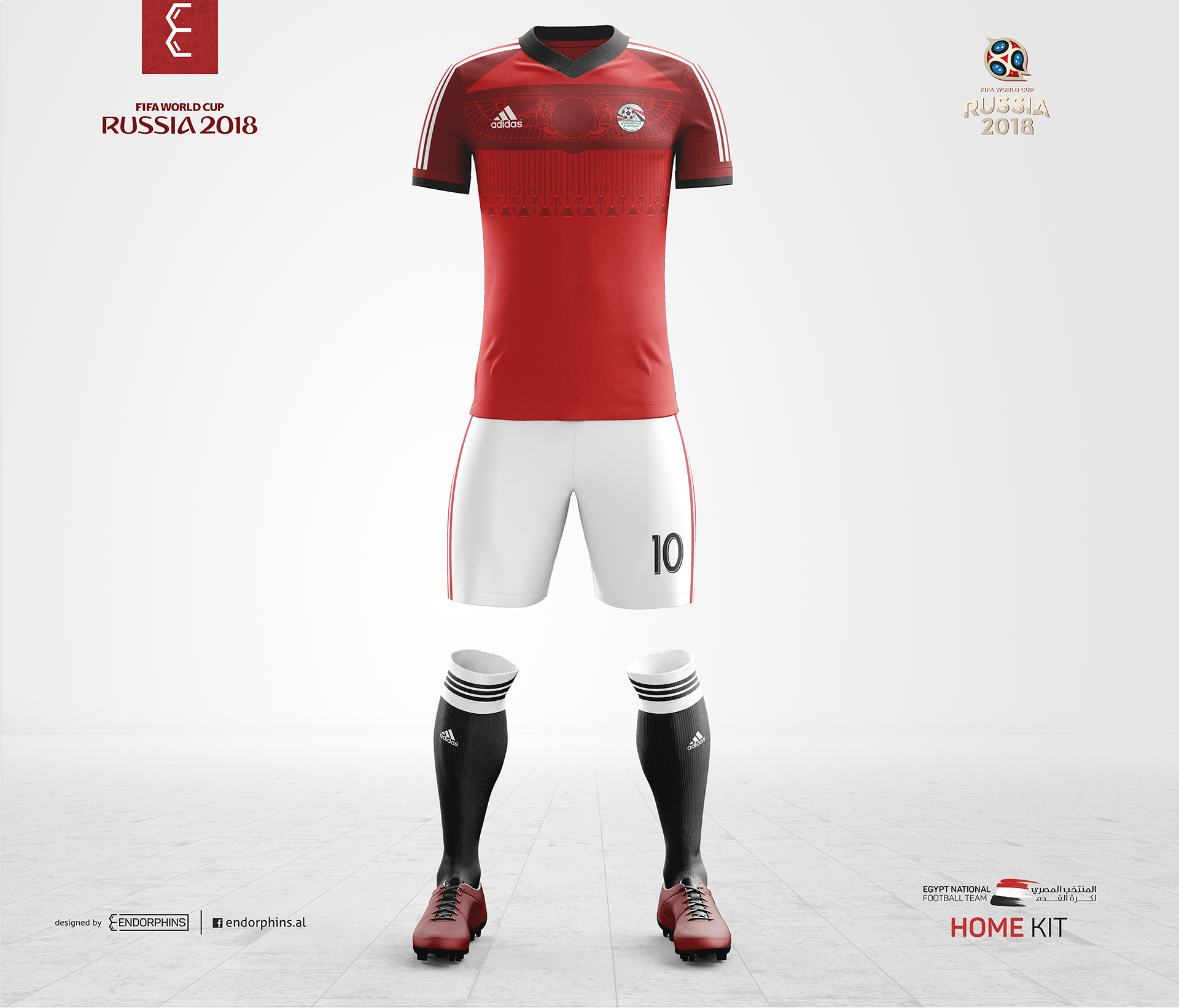 new products 4a286 fd96c Egypt National Football Team (FIFA World Cup 2018) on Behance