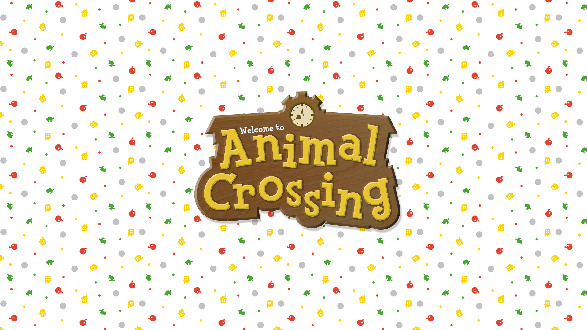 Animal Crossing Logo On Behance