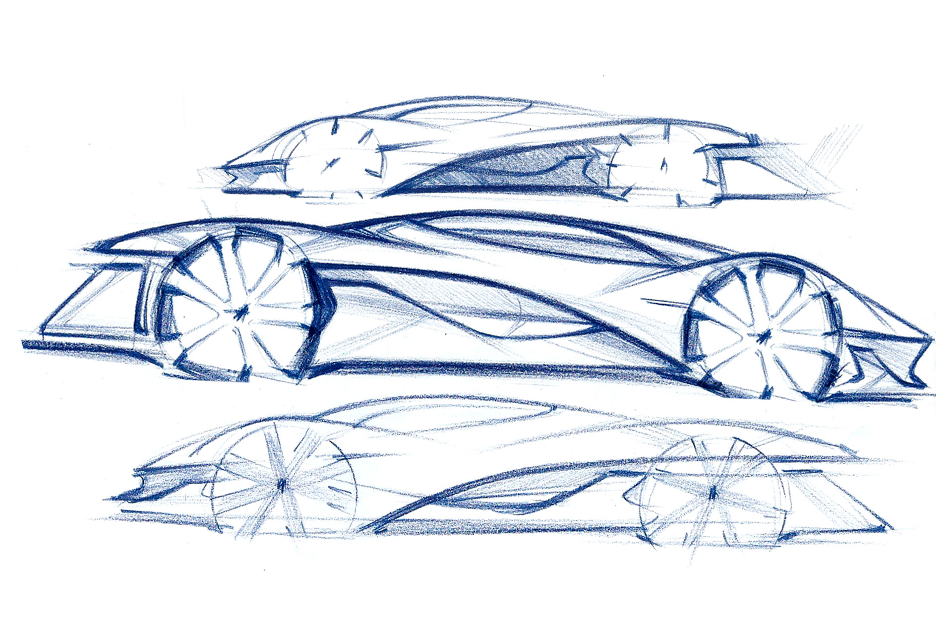 Pagani Concept Sketches On Behance