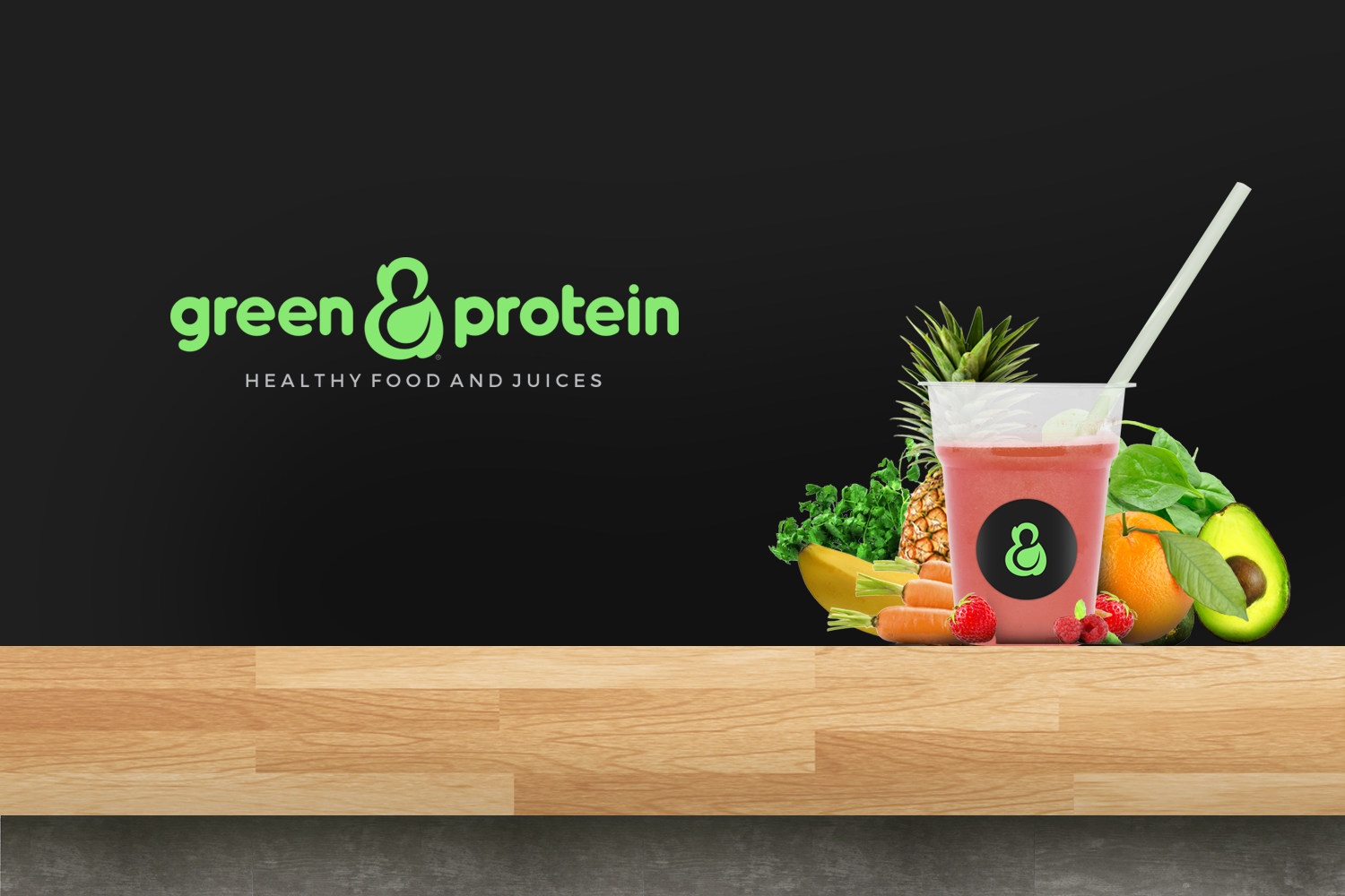 green and protein
