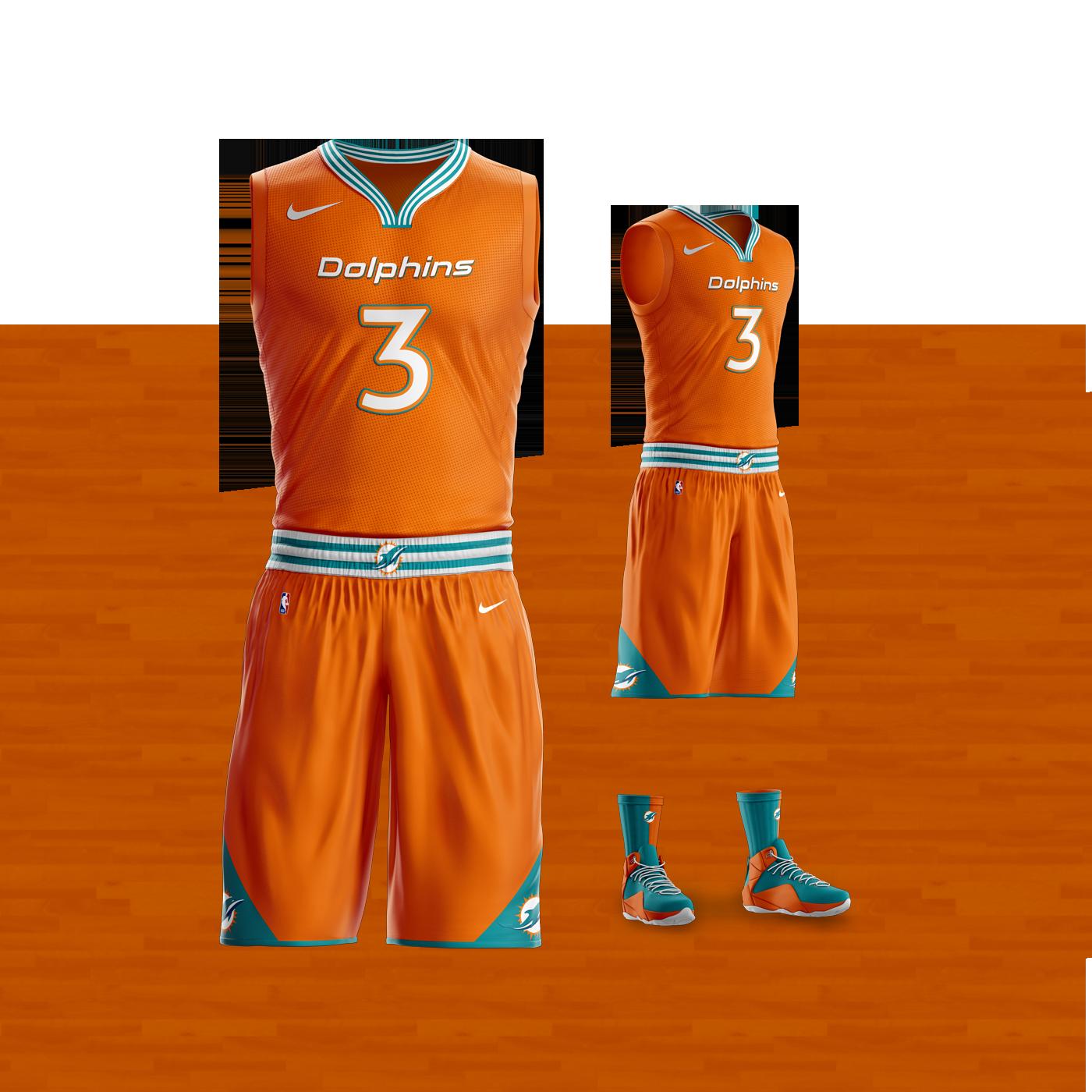 c1c50a7d78f4 NBAxNFL Basketball Uniforms on Behance