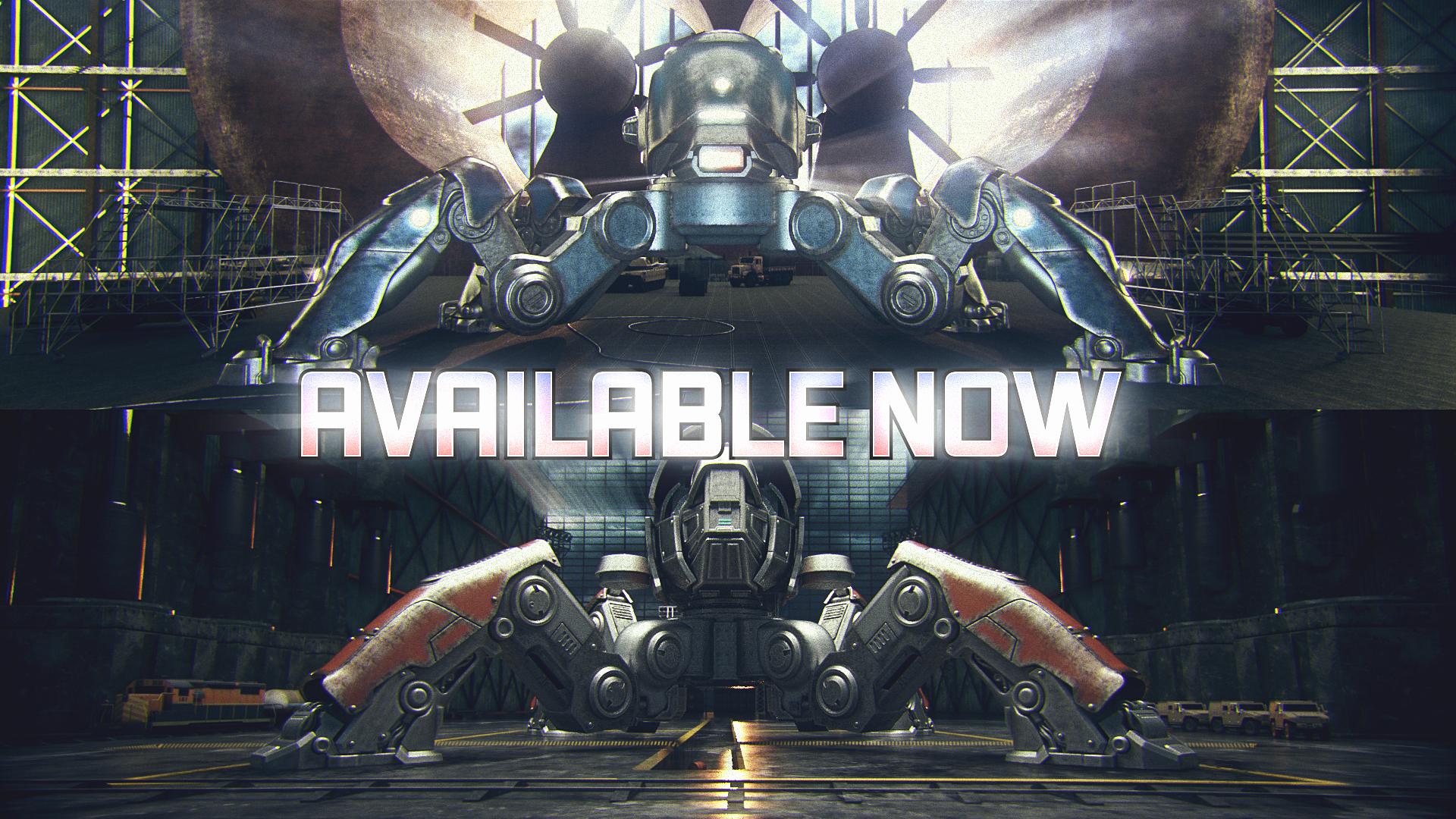 Cgi Teaser Fujin And Raijin New Robots Wwr On Behance
