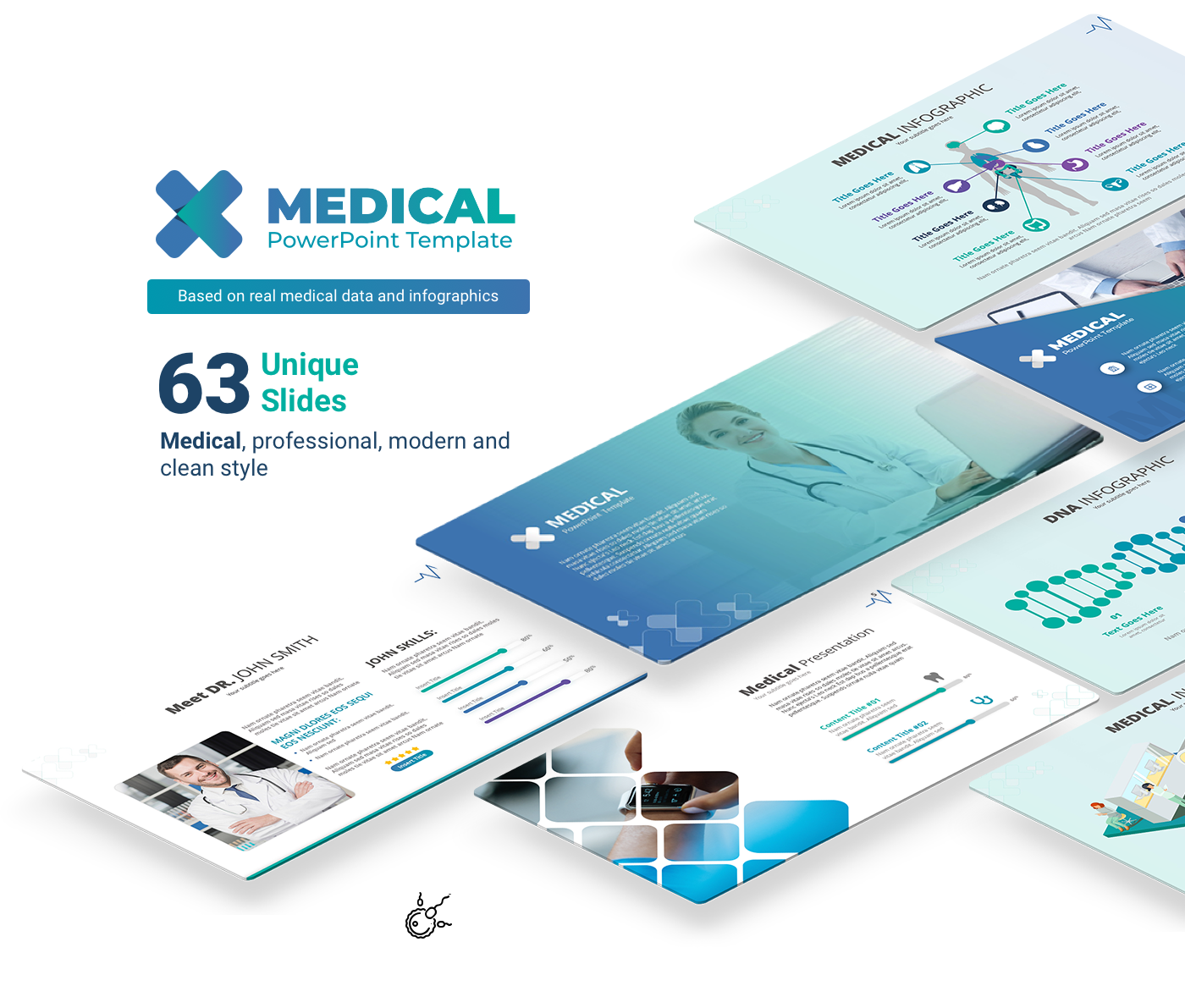 Medical Free Powerpoint Template On Behance