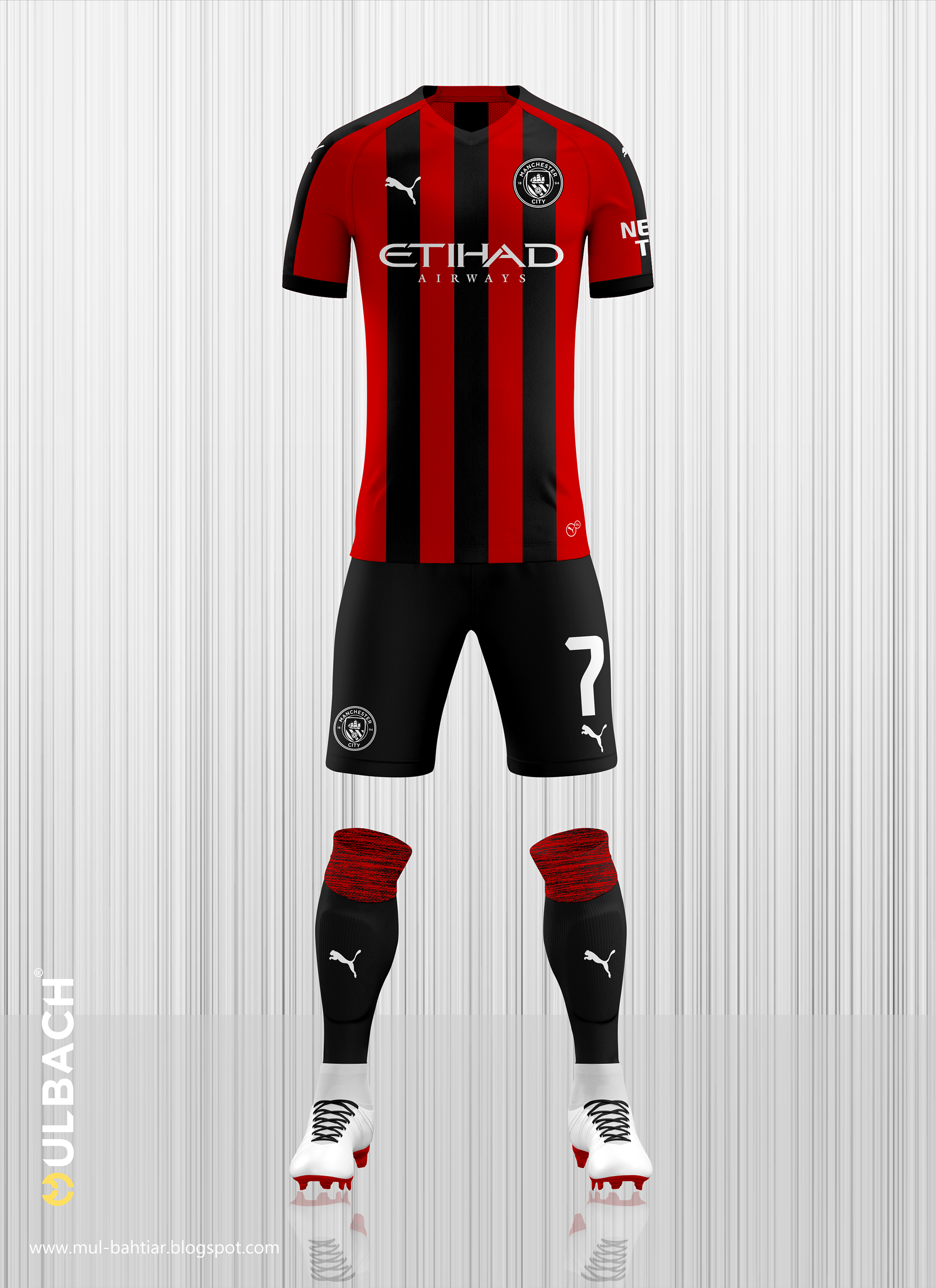 new products da8ba a29b2 Manchester City 2019/2020 Puma Kits Concept on Behance