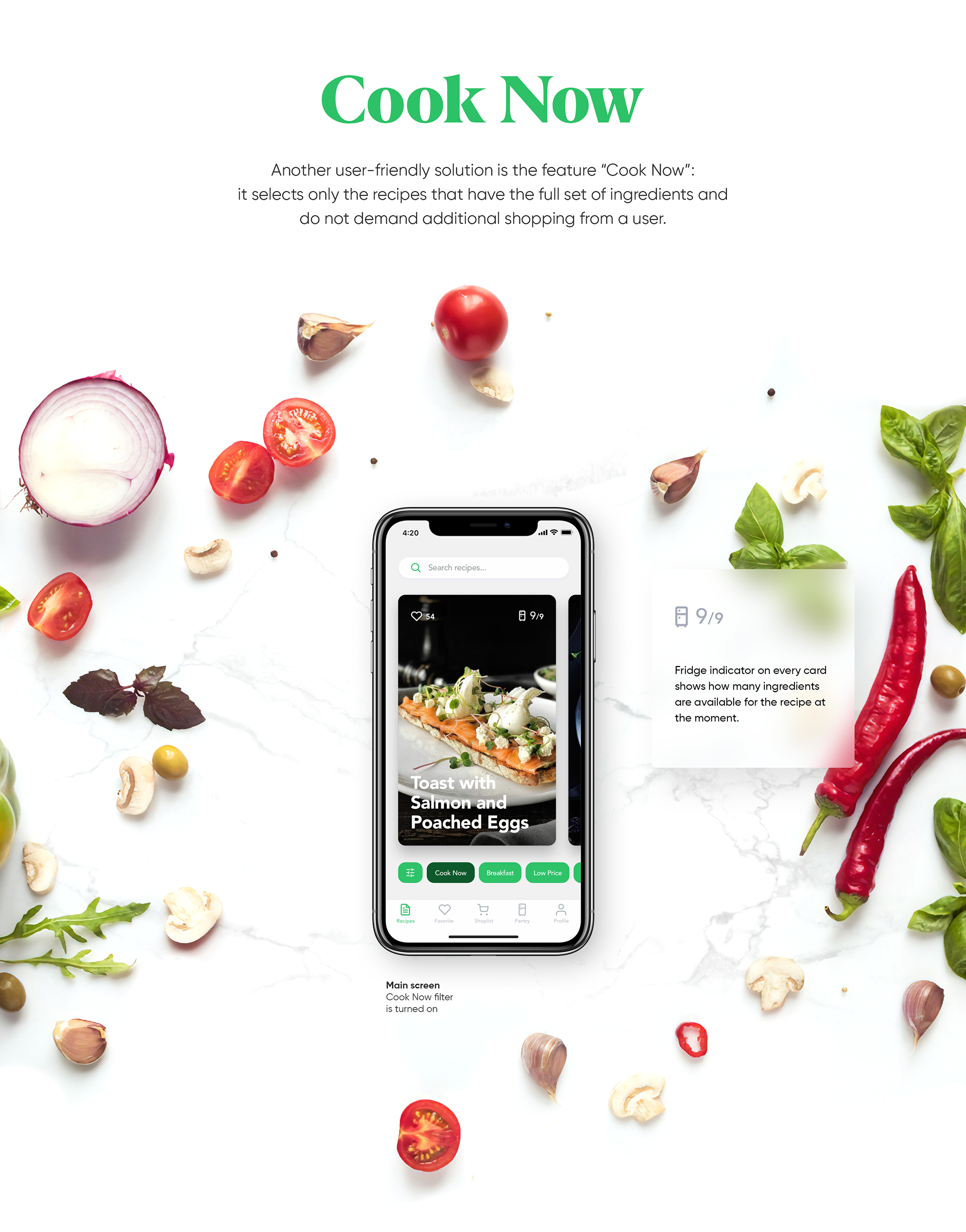 Mobile UI/UX Design: Perfect Recipes App
