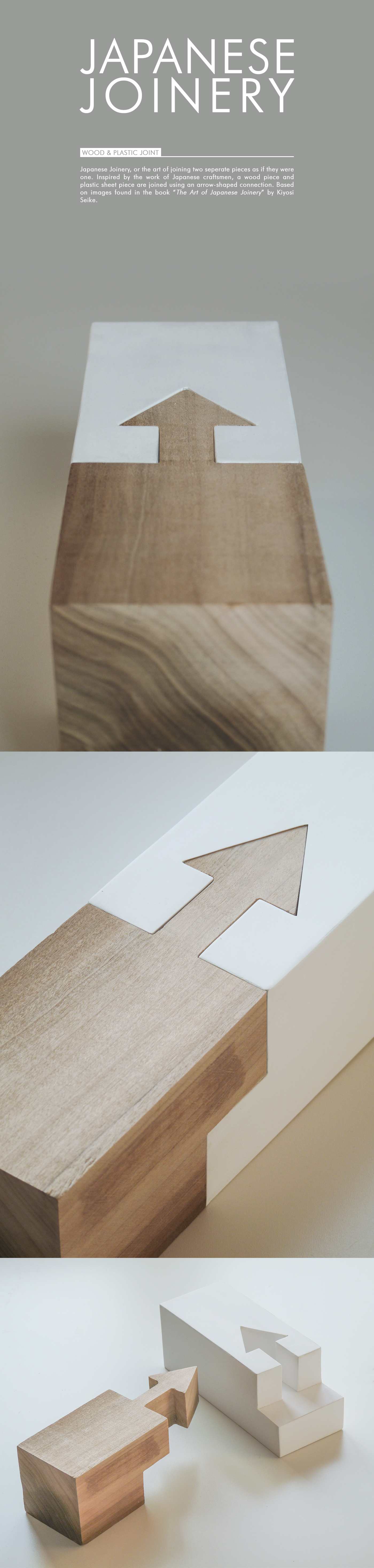 Arrow Connection // Japanese Joinery on Behance