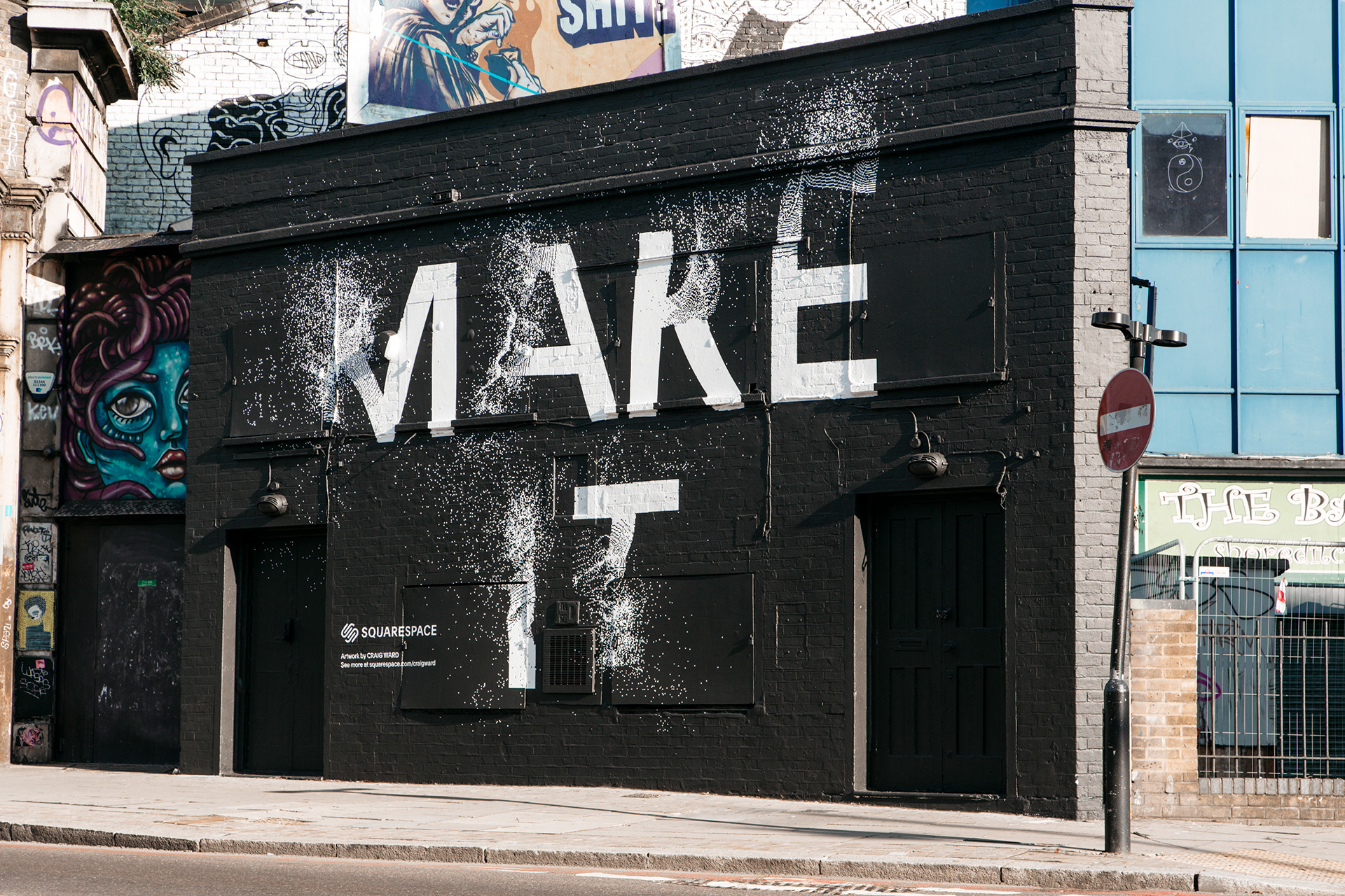 Street Art & Typography for Squarespace - Make It