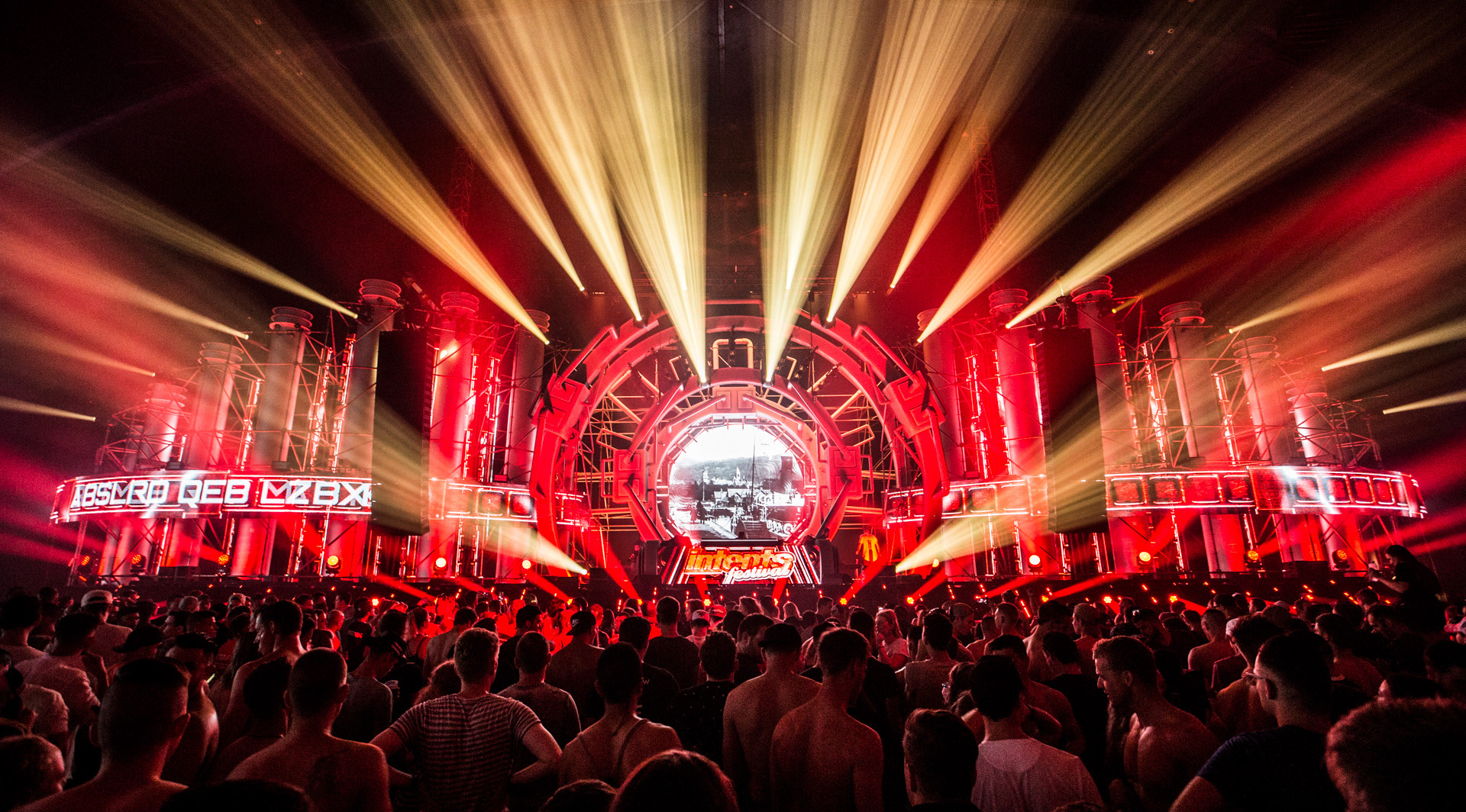 Stage Design - Intents Festival 2018 - Indoor Mainstage on