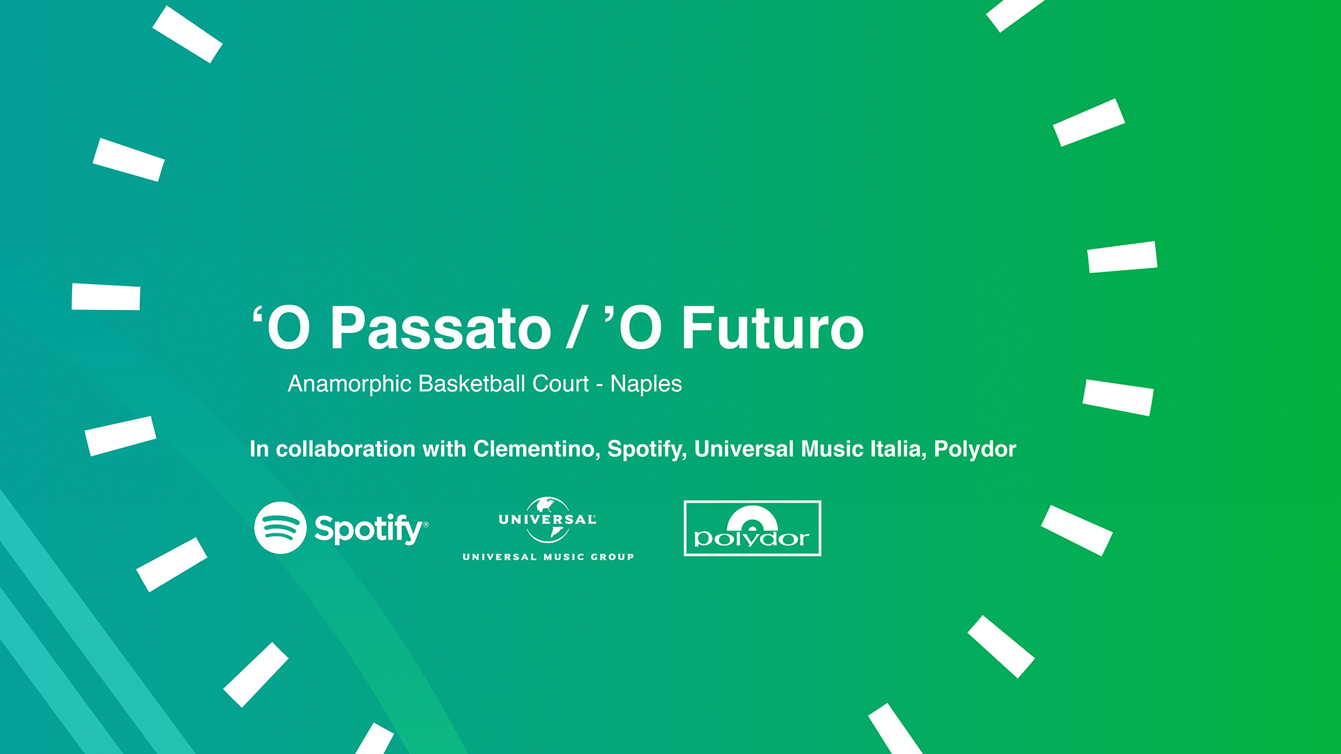 Illusory Basketball Court: O Passato / 'O Futuro - Street Art