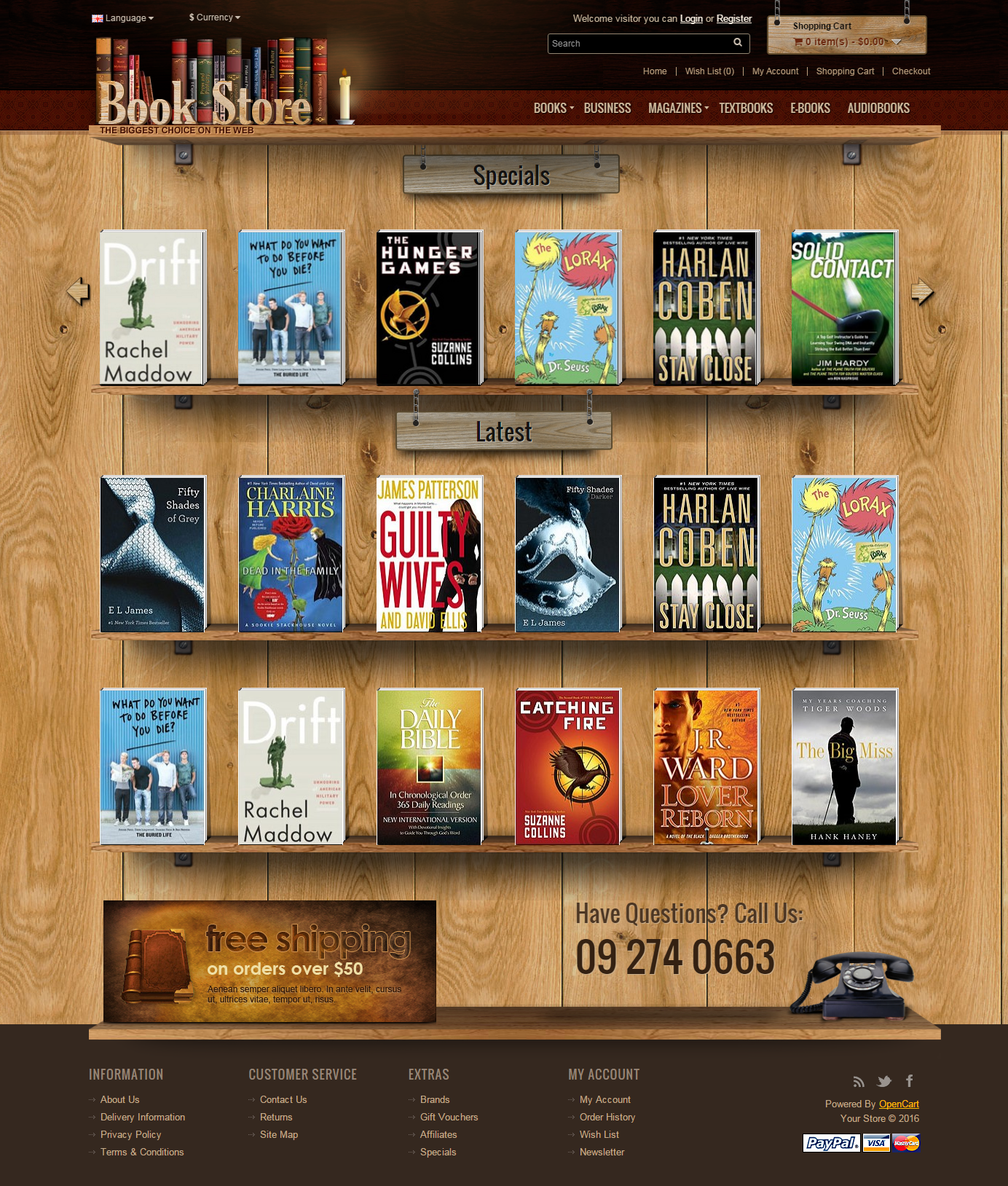 opencart bookstore template opencart bookstore template image collections template