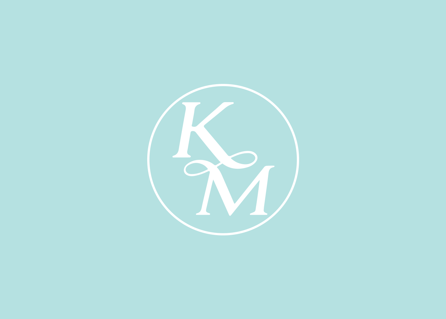 Km Monogram On Behance