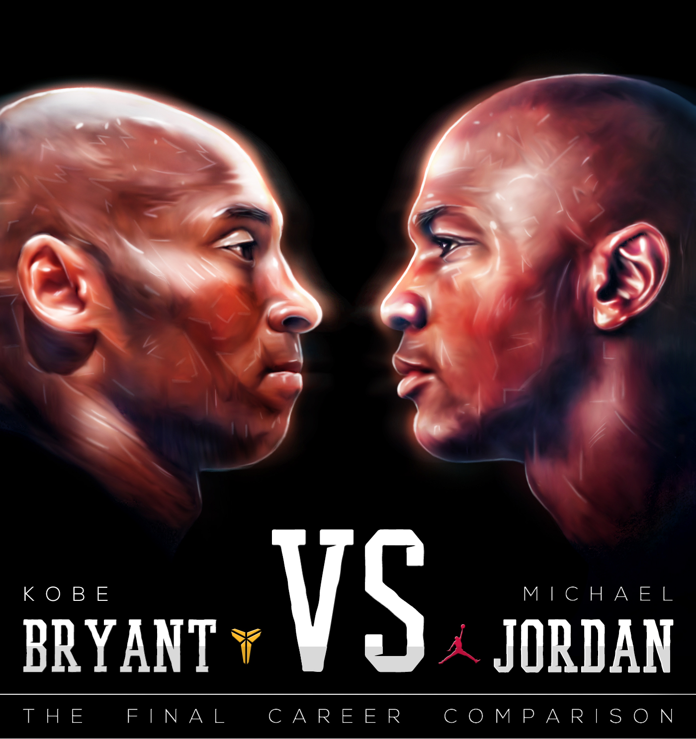 7a2655a5880a Save to Collection. Follow Following Unfollow. Kobe VS MJ - The Final  Career Comparison