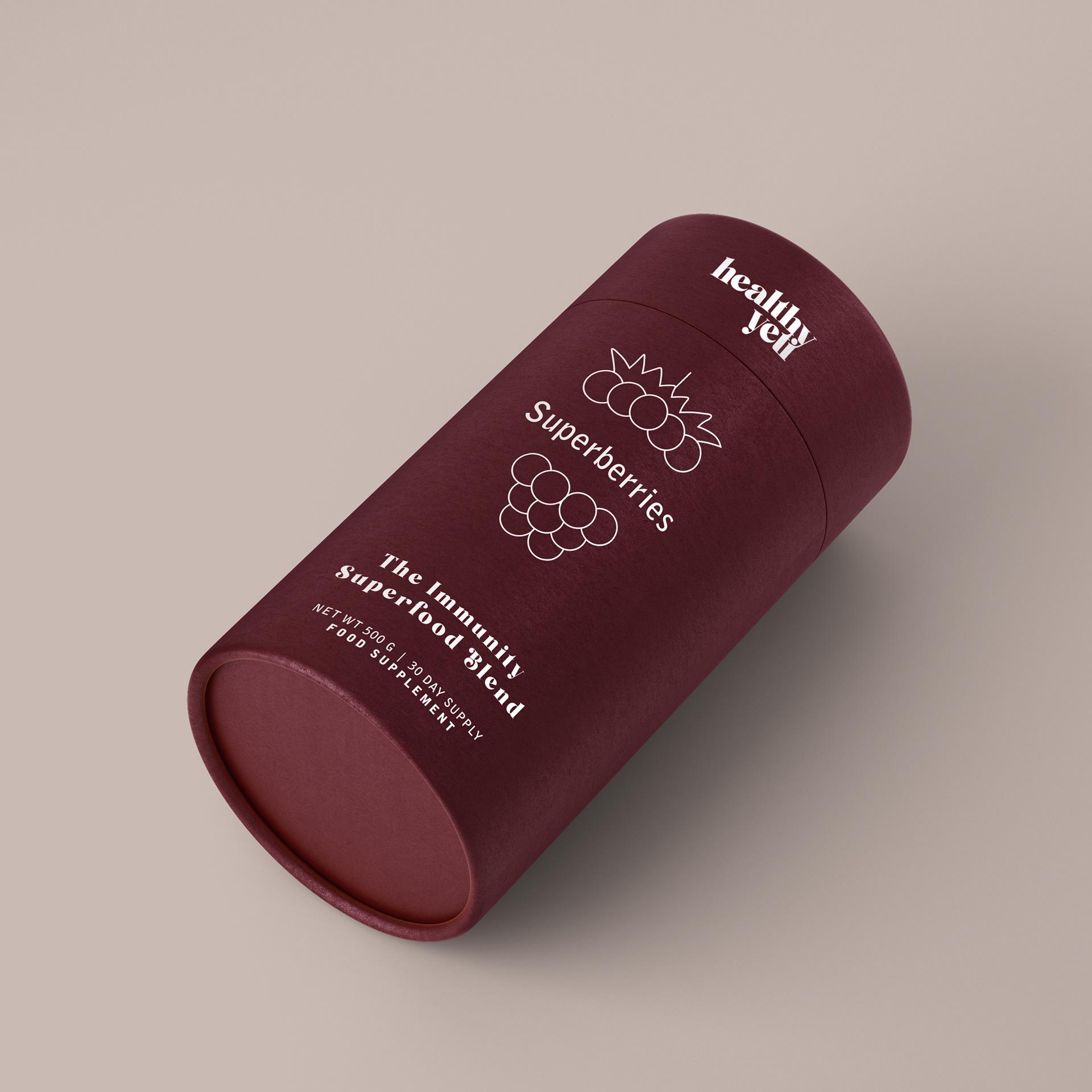 Healthy Yeti branding (UK)