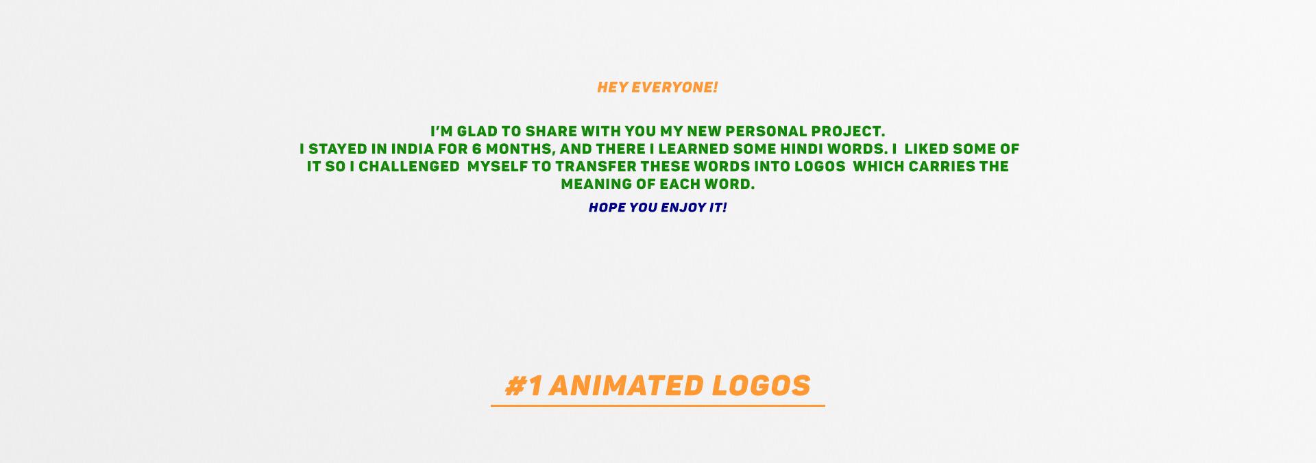 Hindi Typographic Logos on Behance