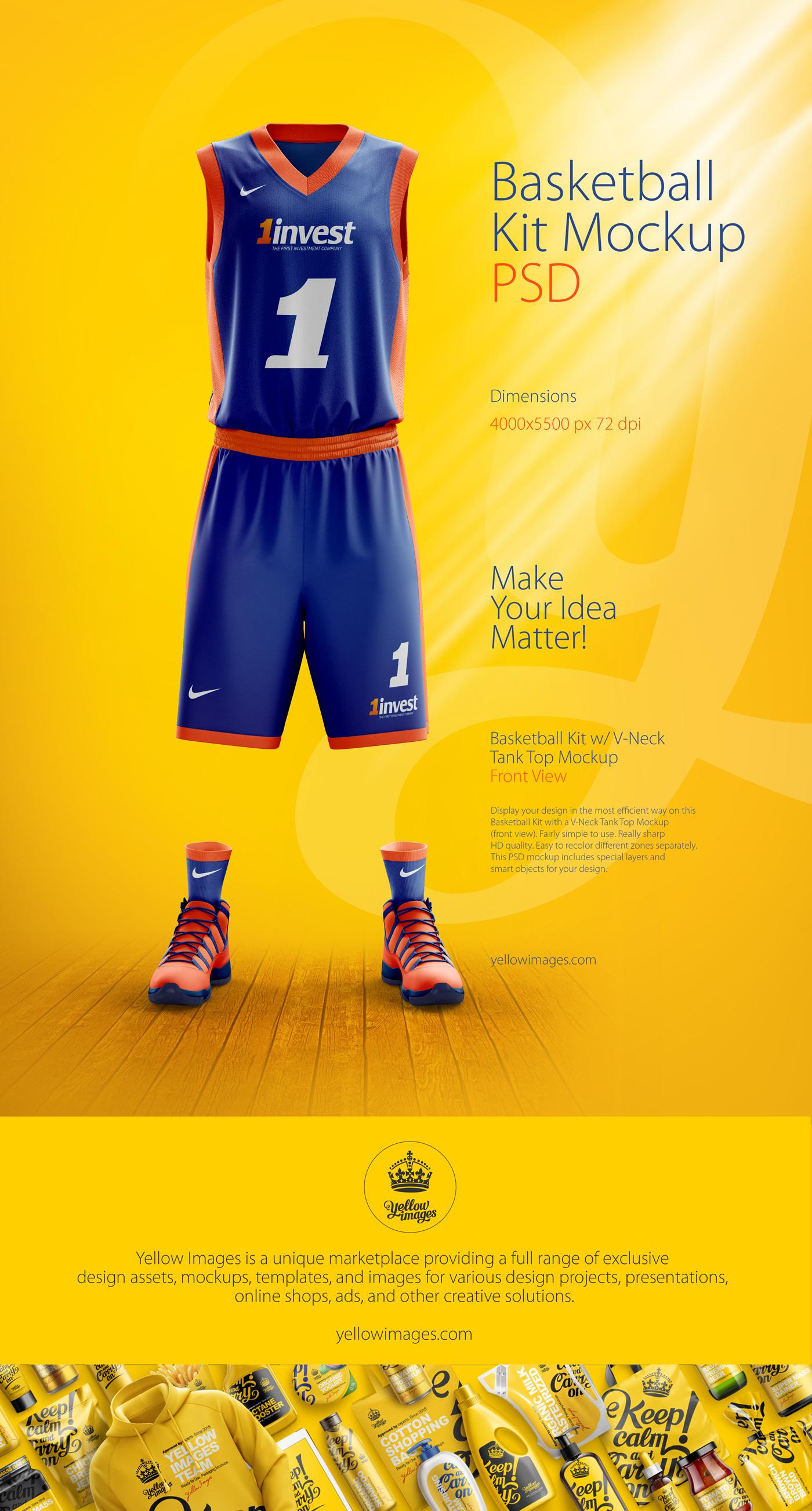 Uniform Mockup Free Download