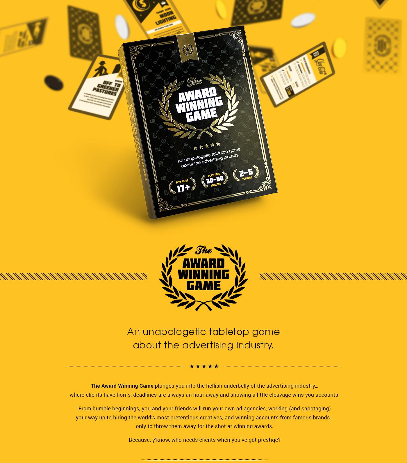 The Award Winning Game On Behance