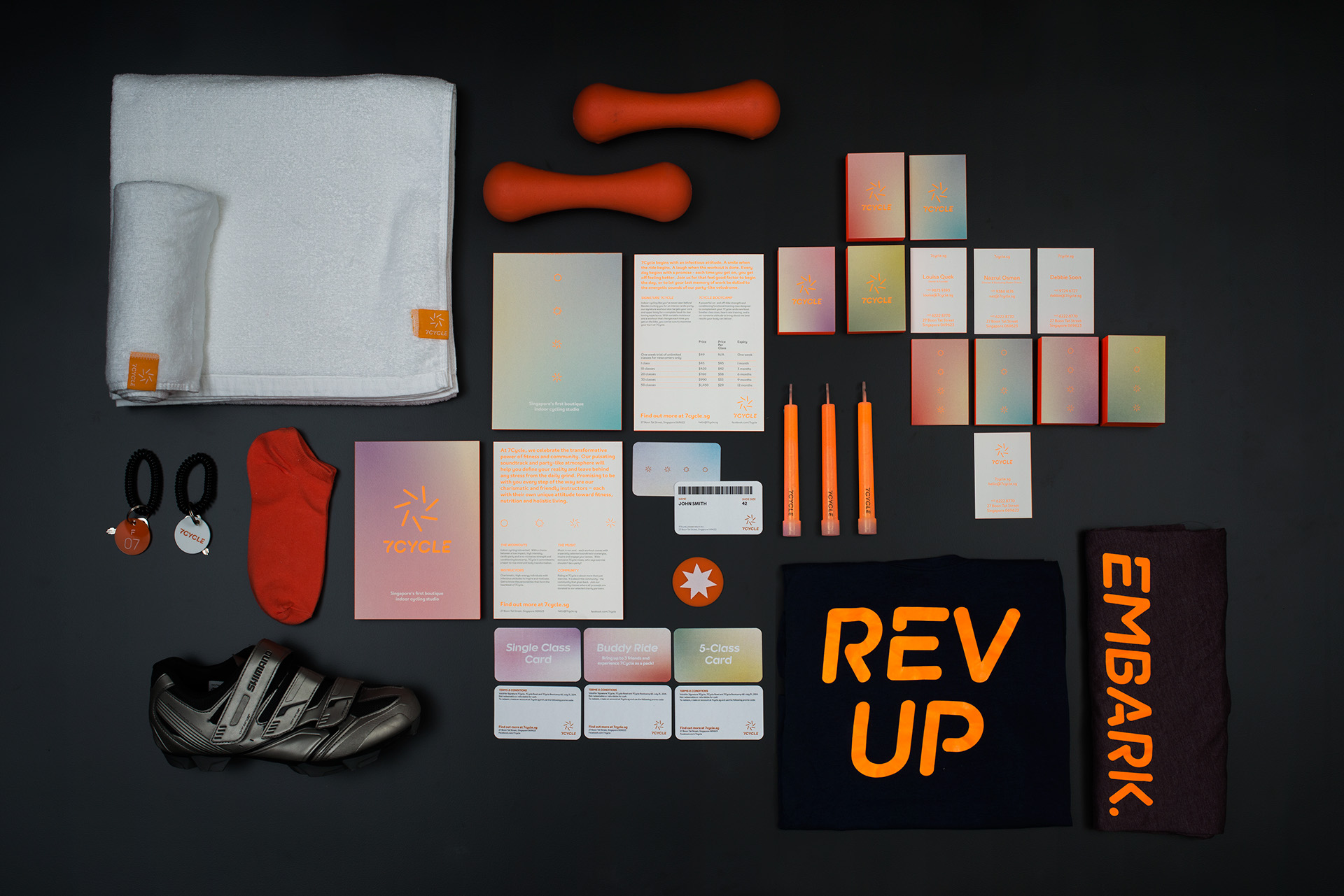 Branding & Visual Identity: 7Cycle