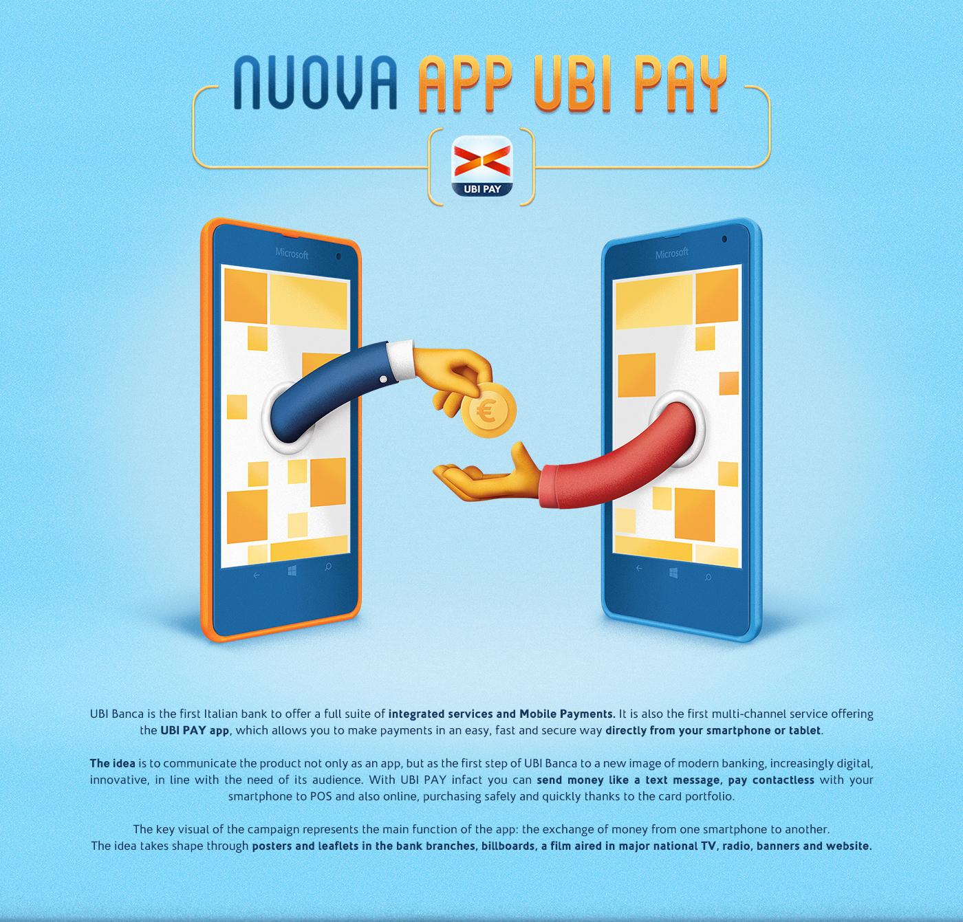 UBI Pay App on Behance