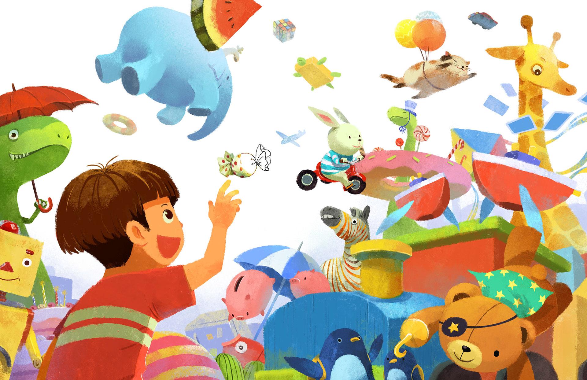 Фантазия ребенка в картинках