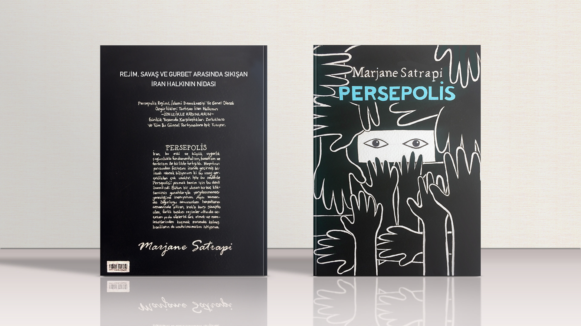 Persepolis Book Cover On Behance