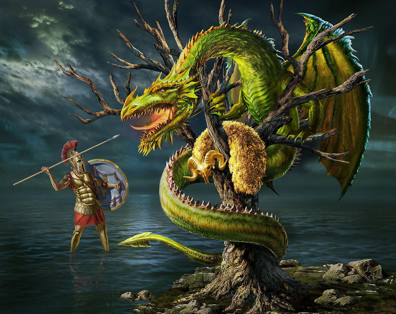 Dragon From Greek Mythology: Children's Fantasy (tuff Stuff