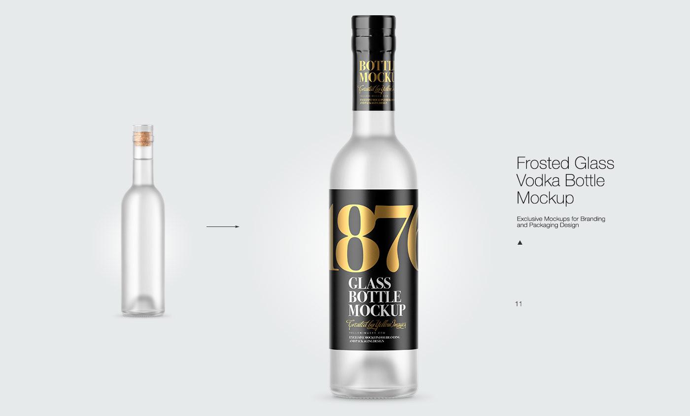Download 11 Spirits Bottles Psd Mockups On Behance PSD Mockup Templates