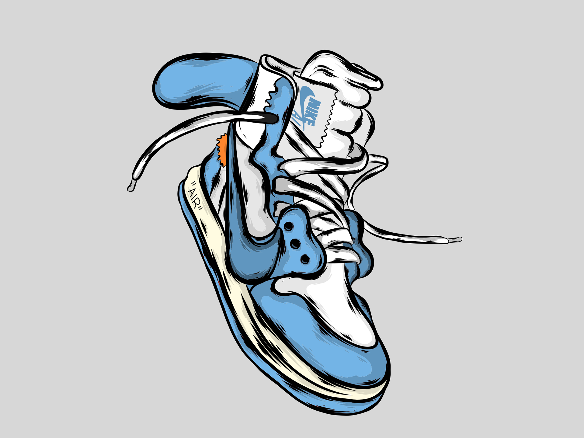Nike Air Jordan 1 On Behance