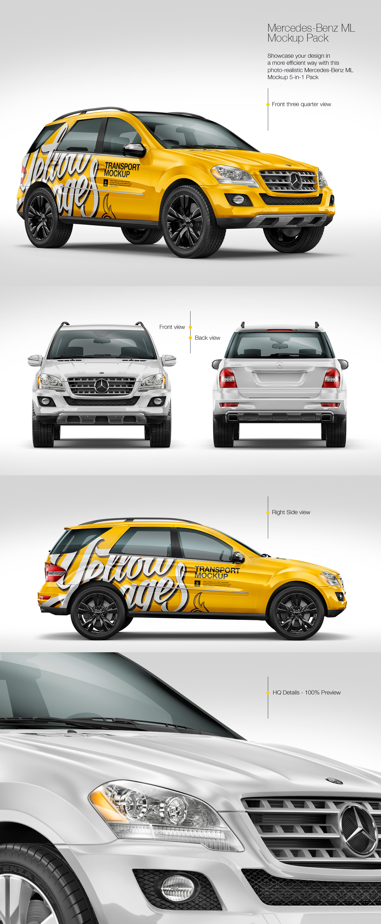 Download Rendering Vehicle For Mock Ups On Behance Yellowimages Mockups