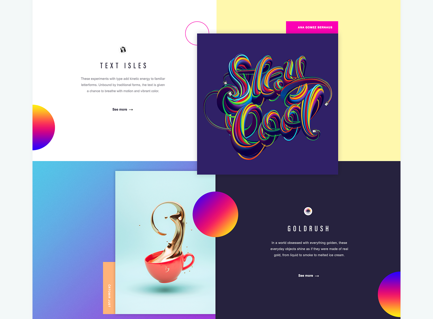 22 Design Trends Guide on Behance | title