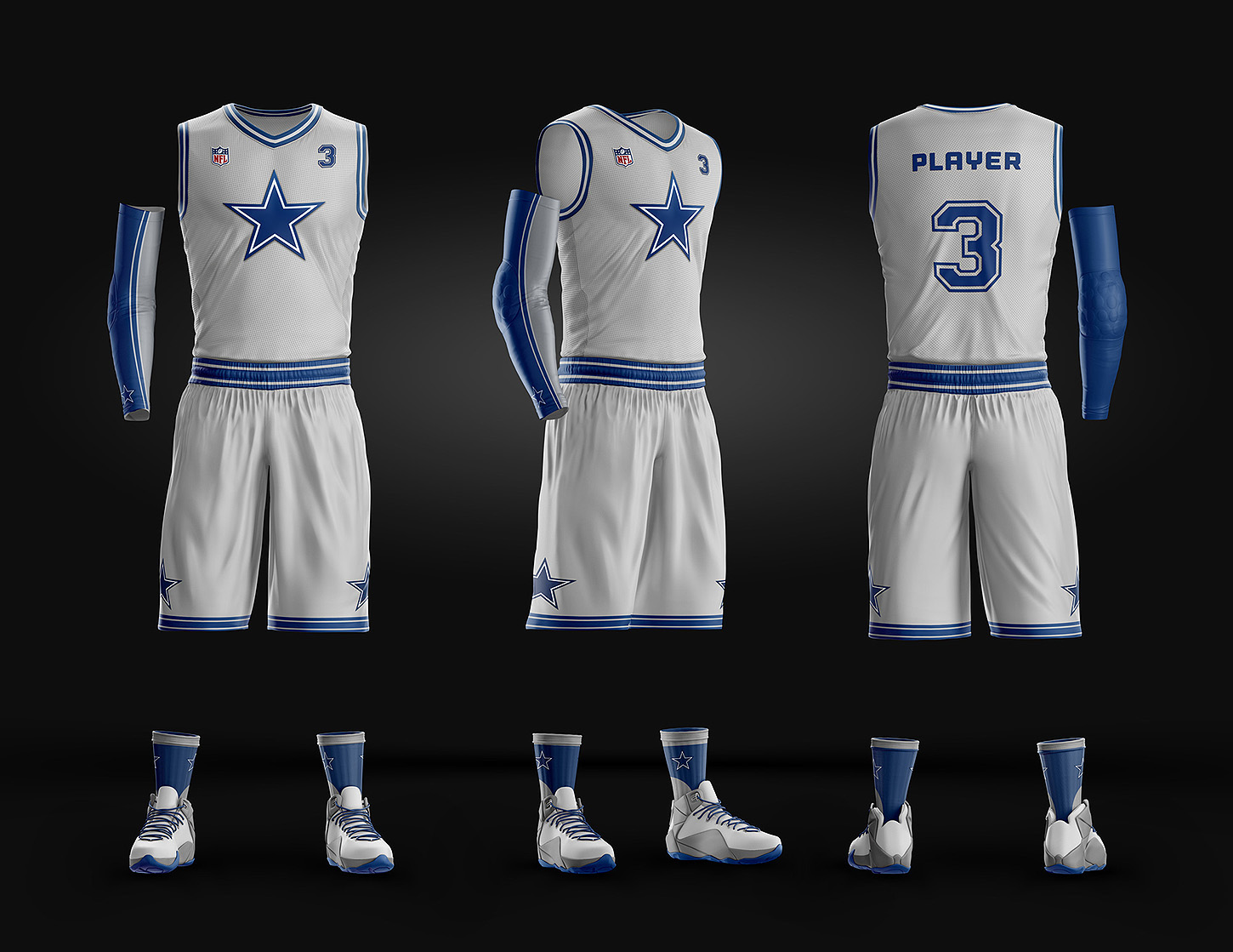 e03864d59b4 Basketball Uniform Jersey PSD template on Behance