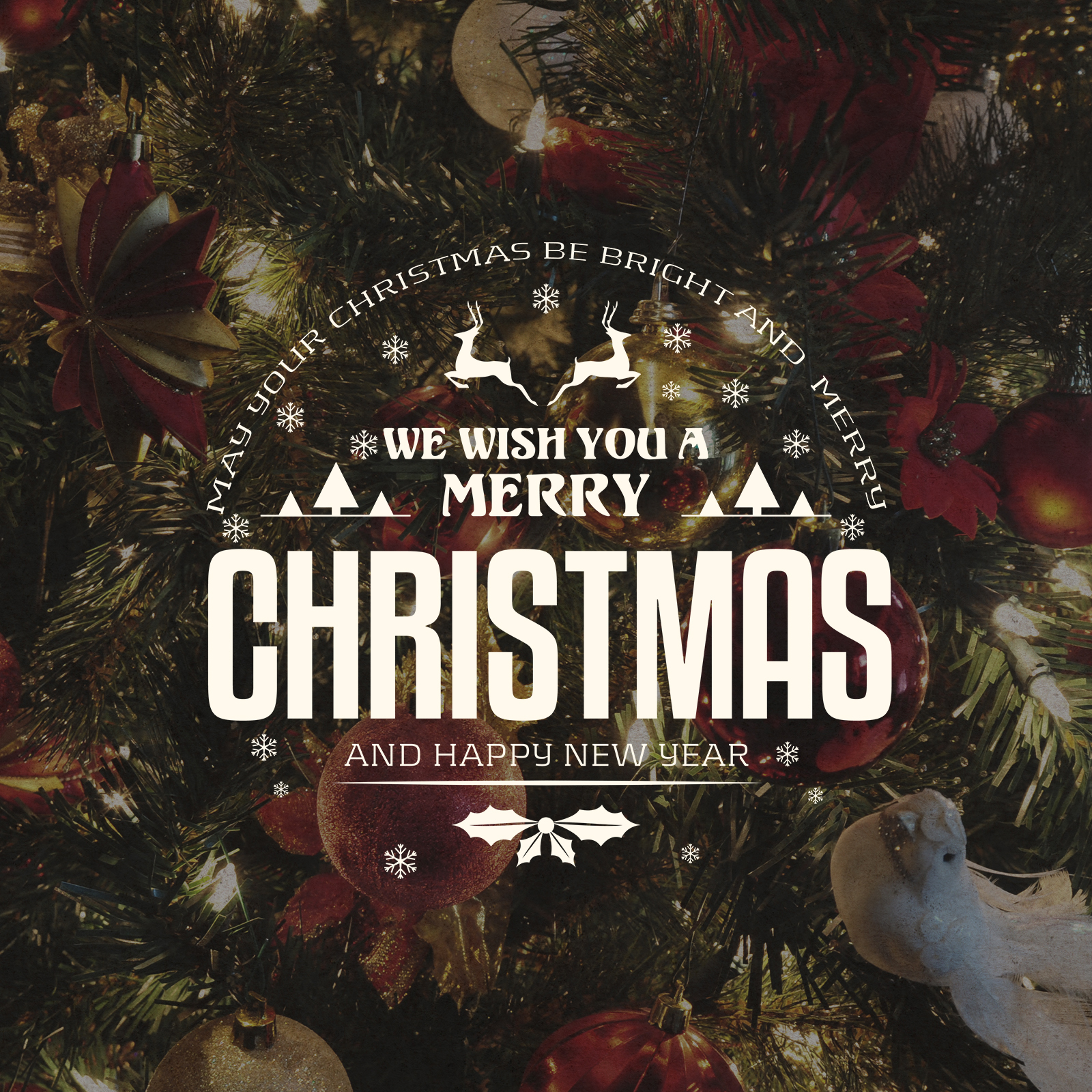 free christmas new year badges and labels on behance