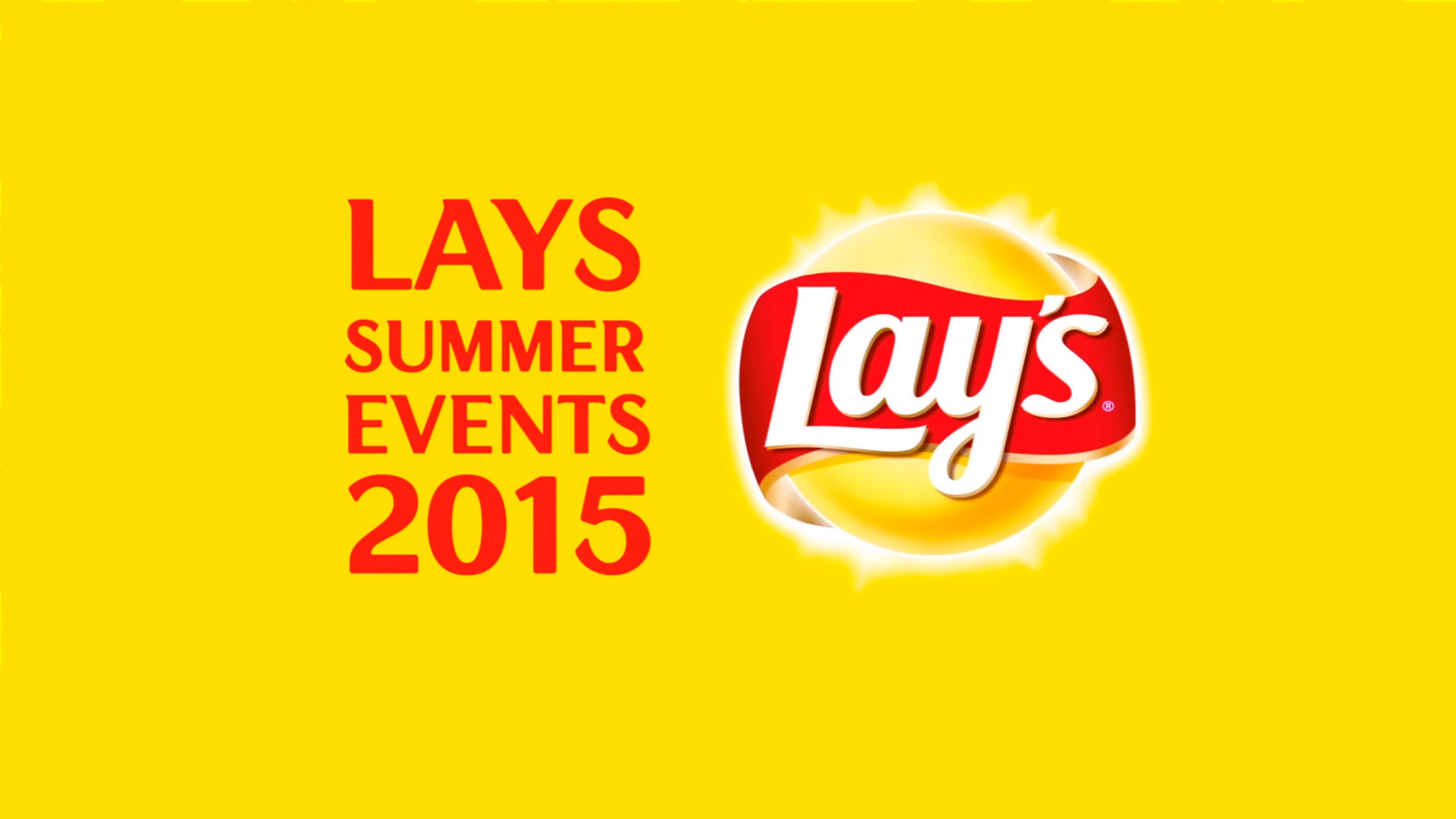 Lays summer events 2015 on Behance