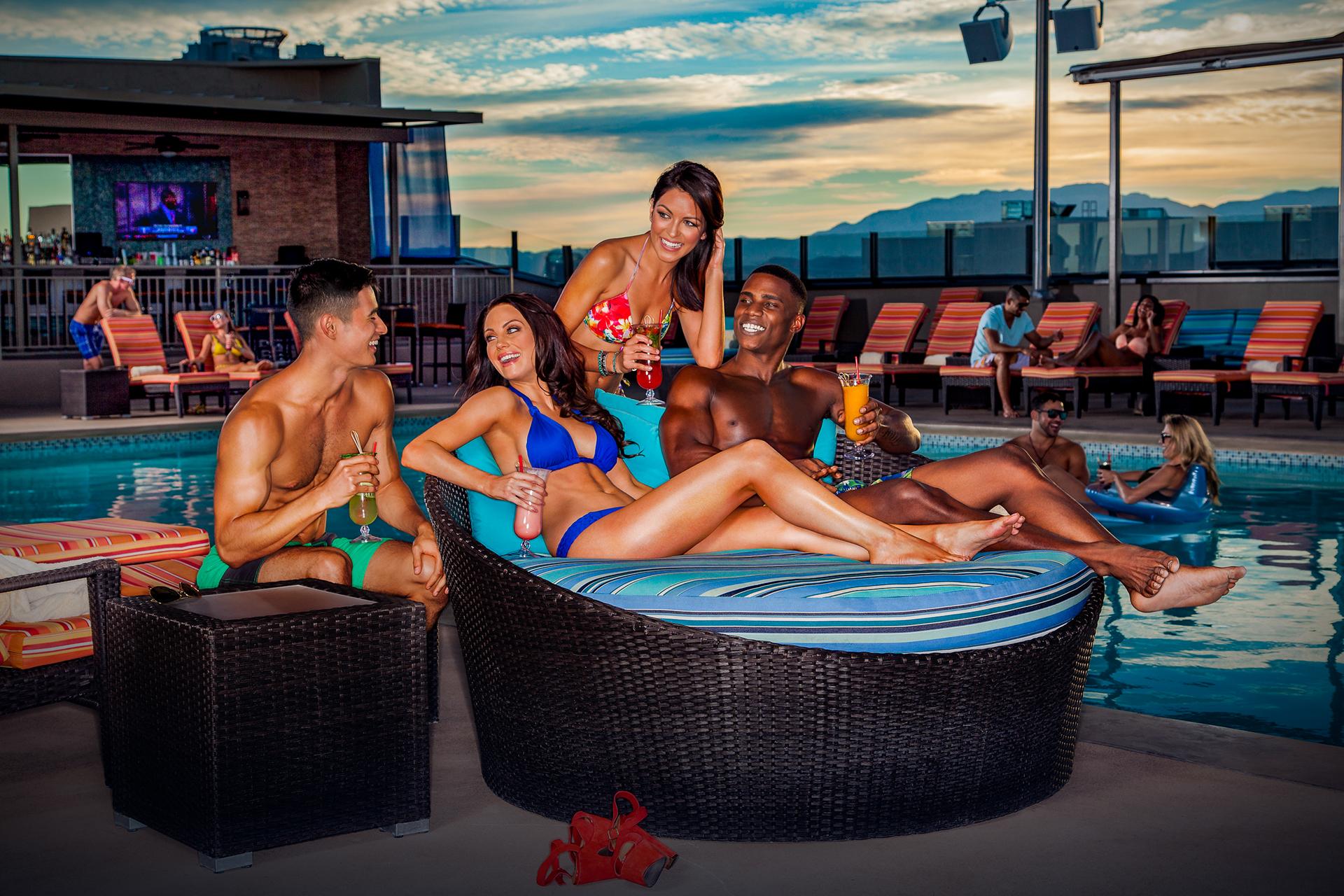 Topless vegas pool