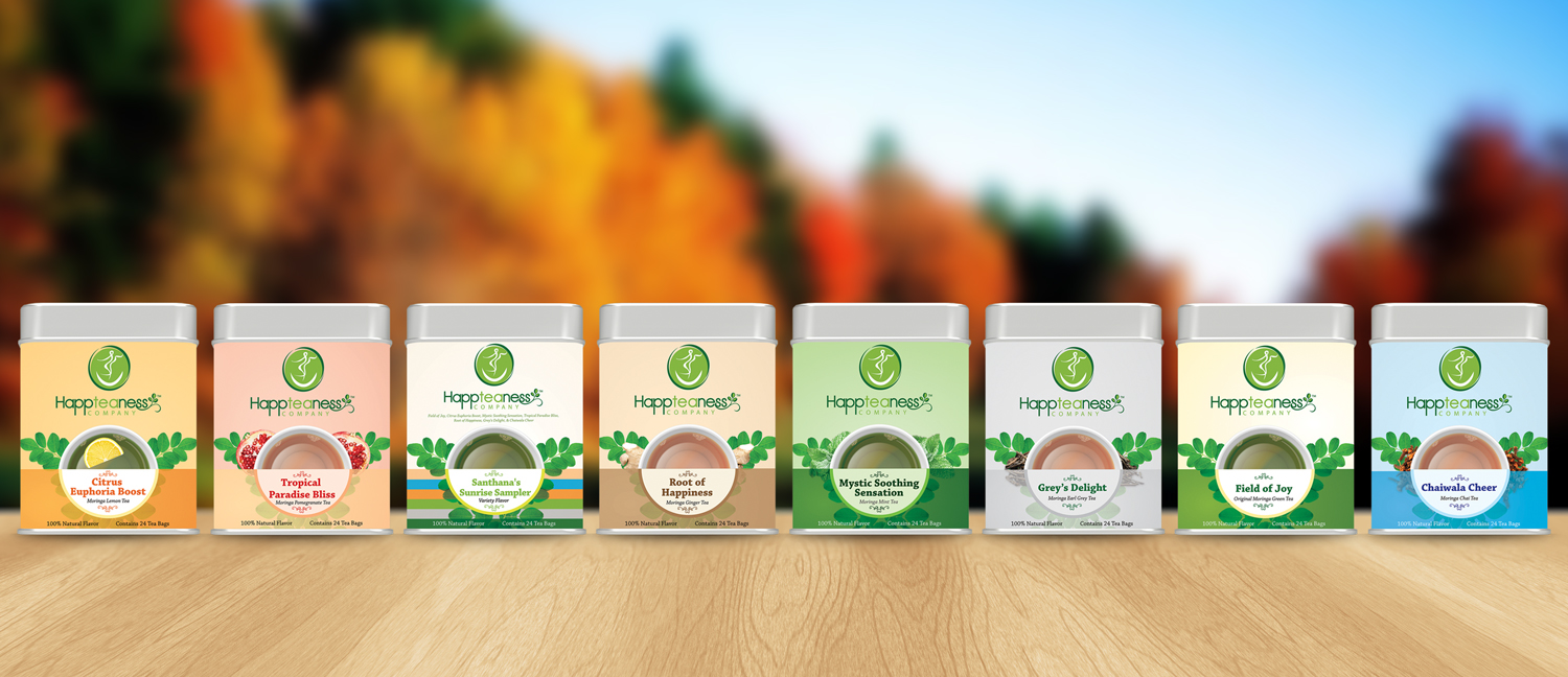 happteaness packaging design