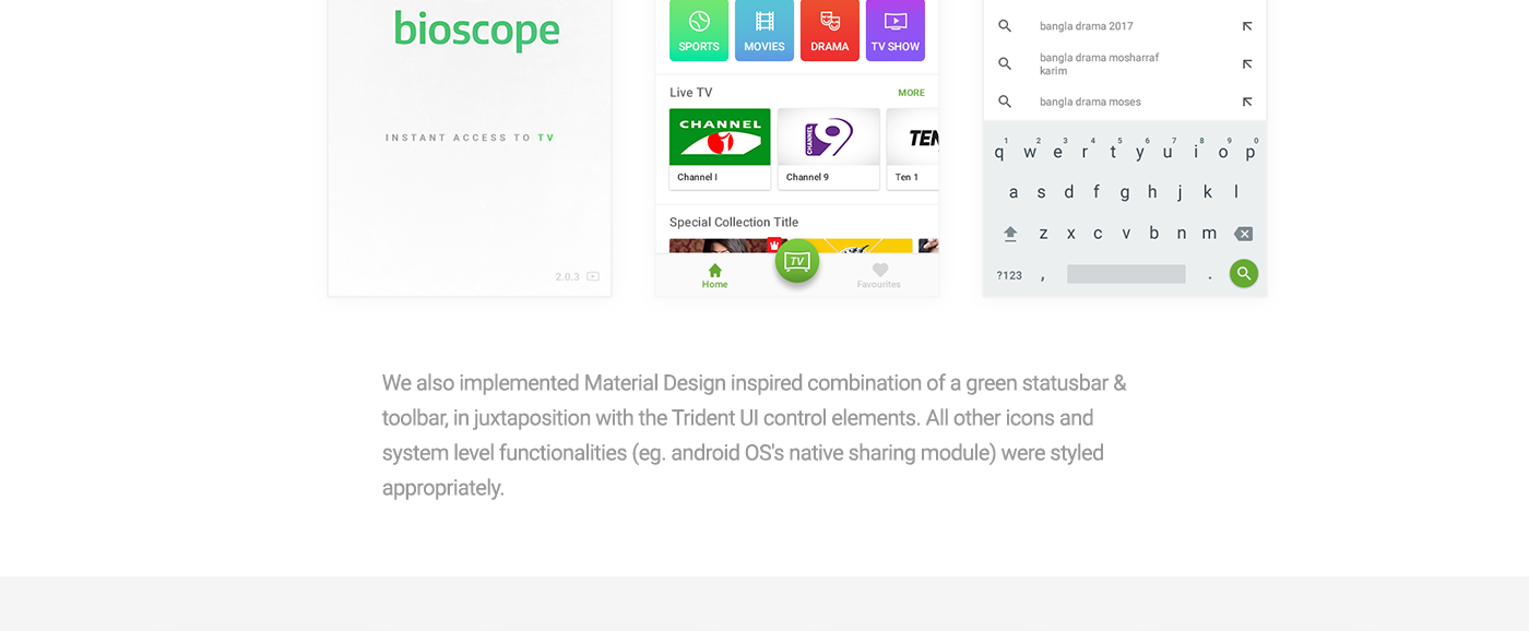 Bioscope - Mobile App on Behance