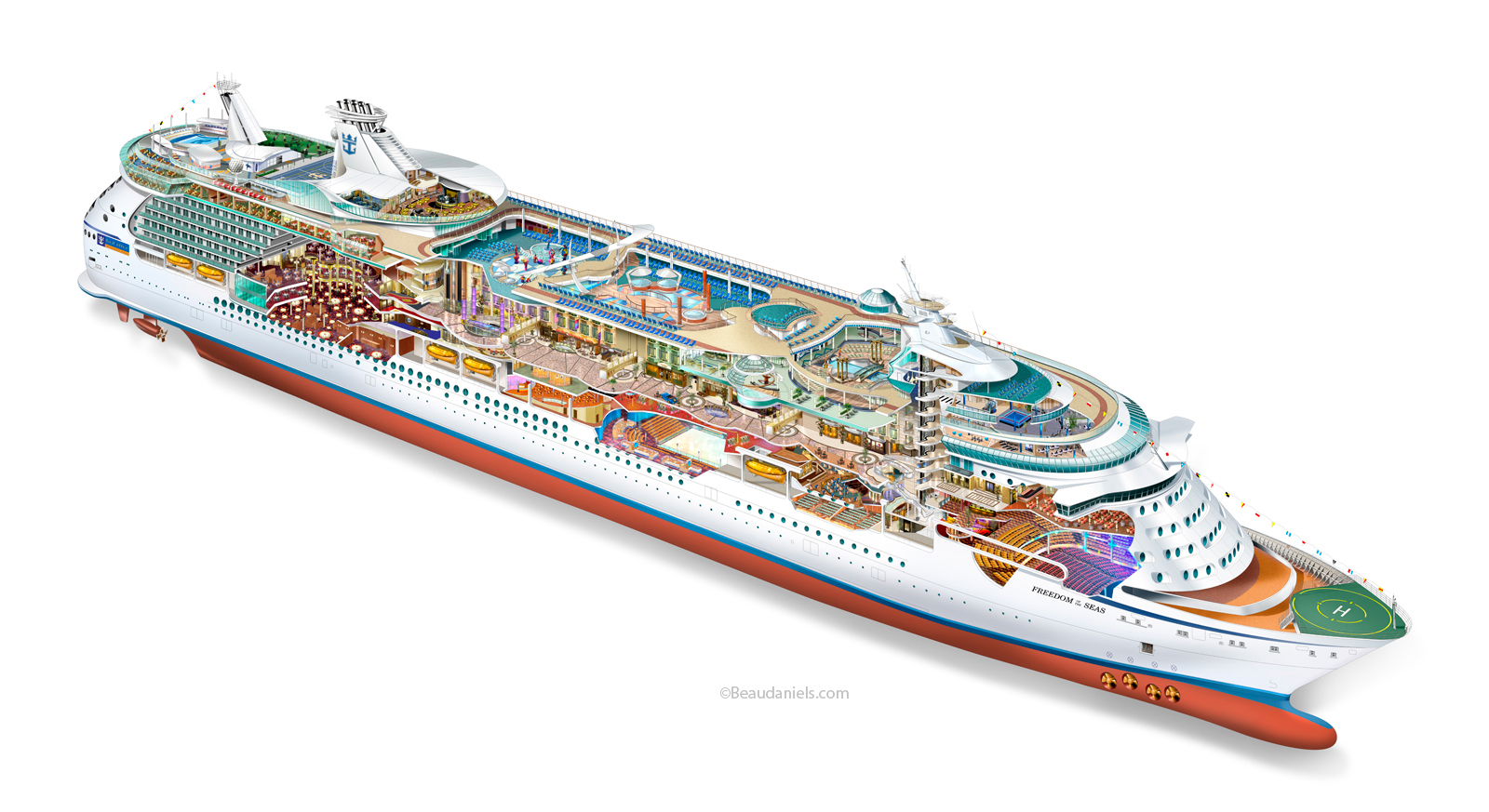 Royal Caribbean Cruise Deck Plan Awesome design kitchen New in House Designer Room