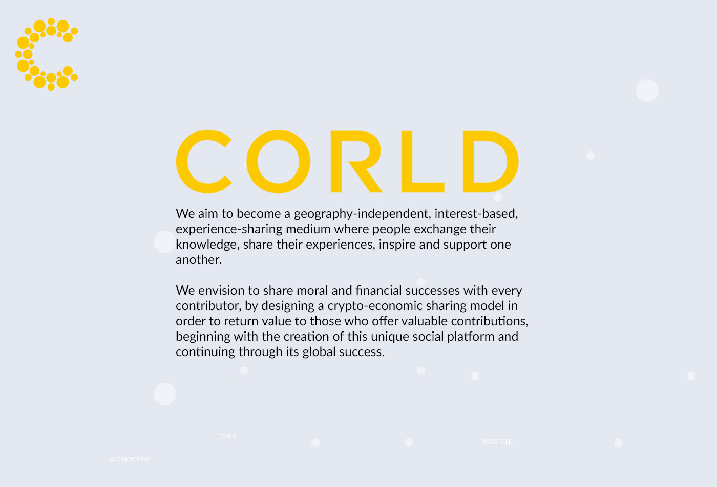 CORLD Social Networking App on Behance