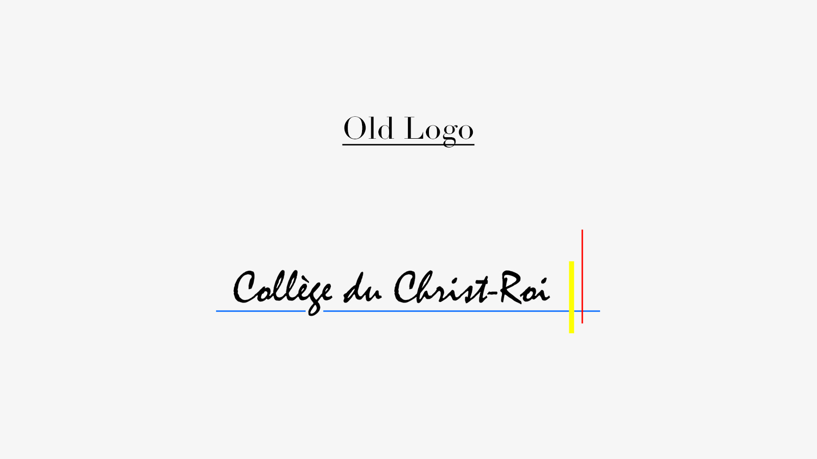 Collège du Christ - Roi Rebrand on Behance