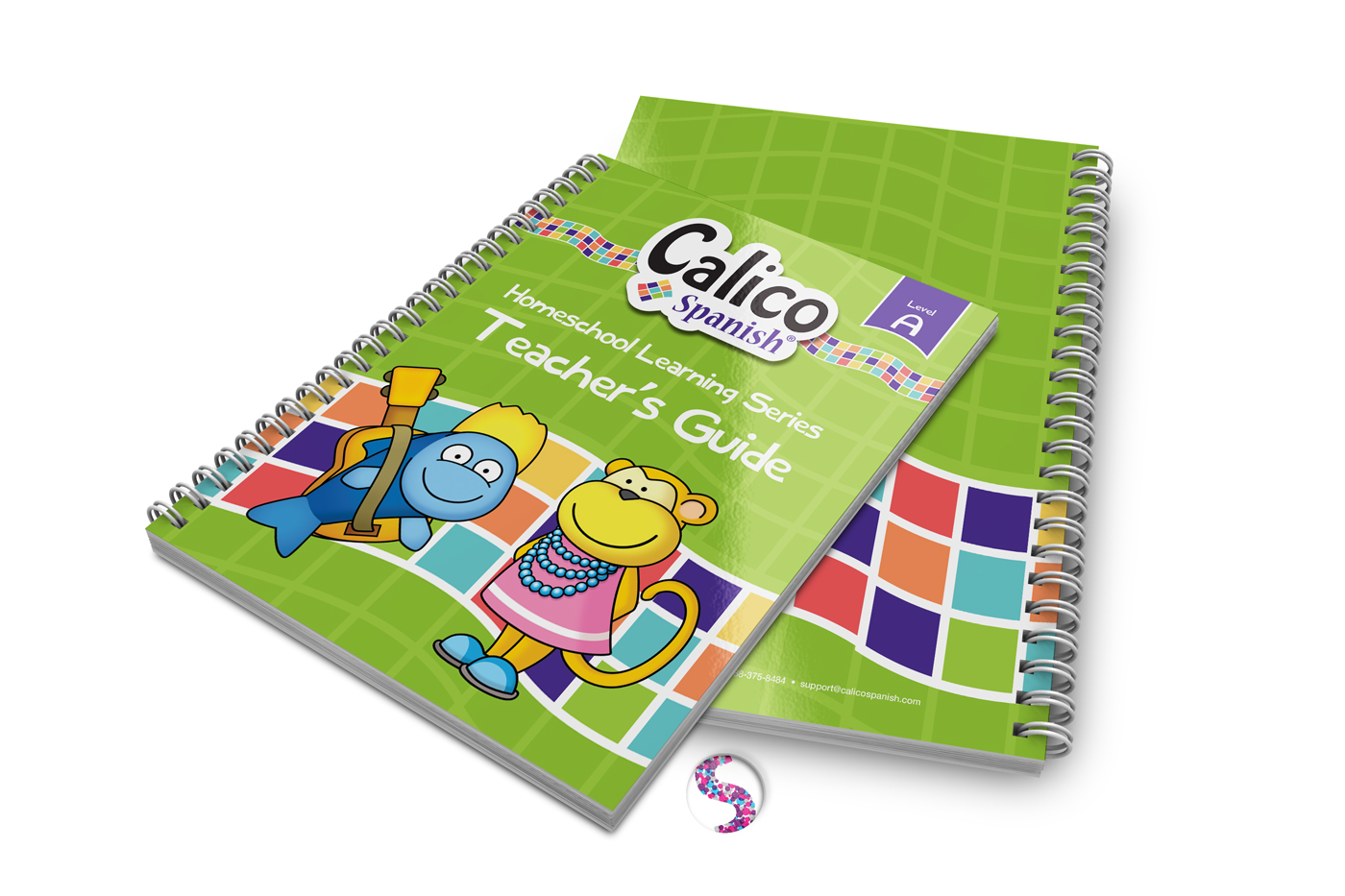 Calico Spanish Home Learning Level A on Behance