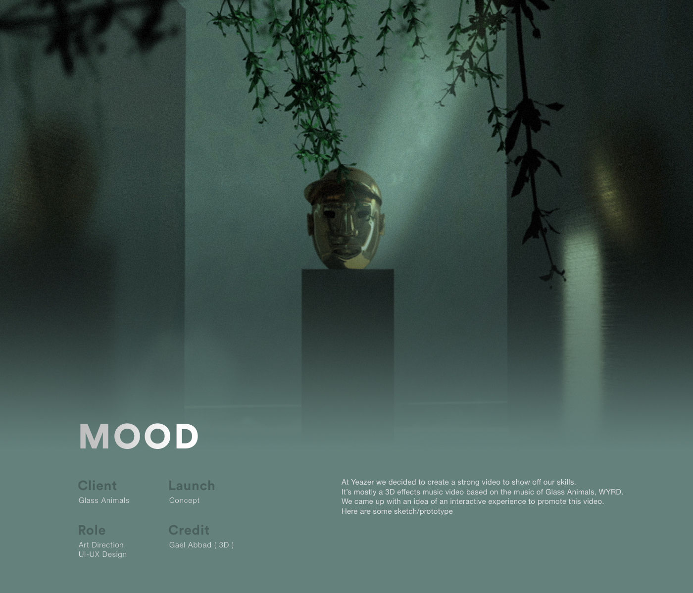 Mood - Experience Website on Behance