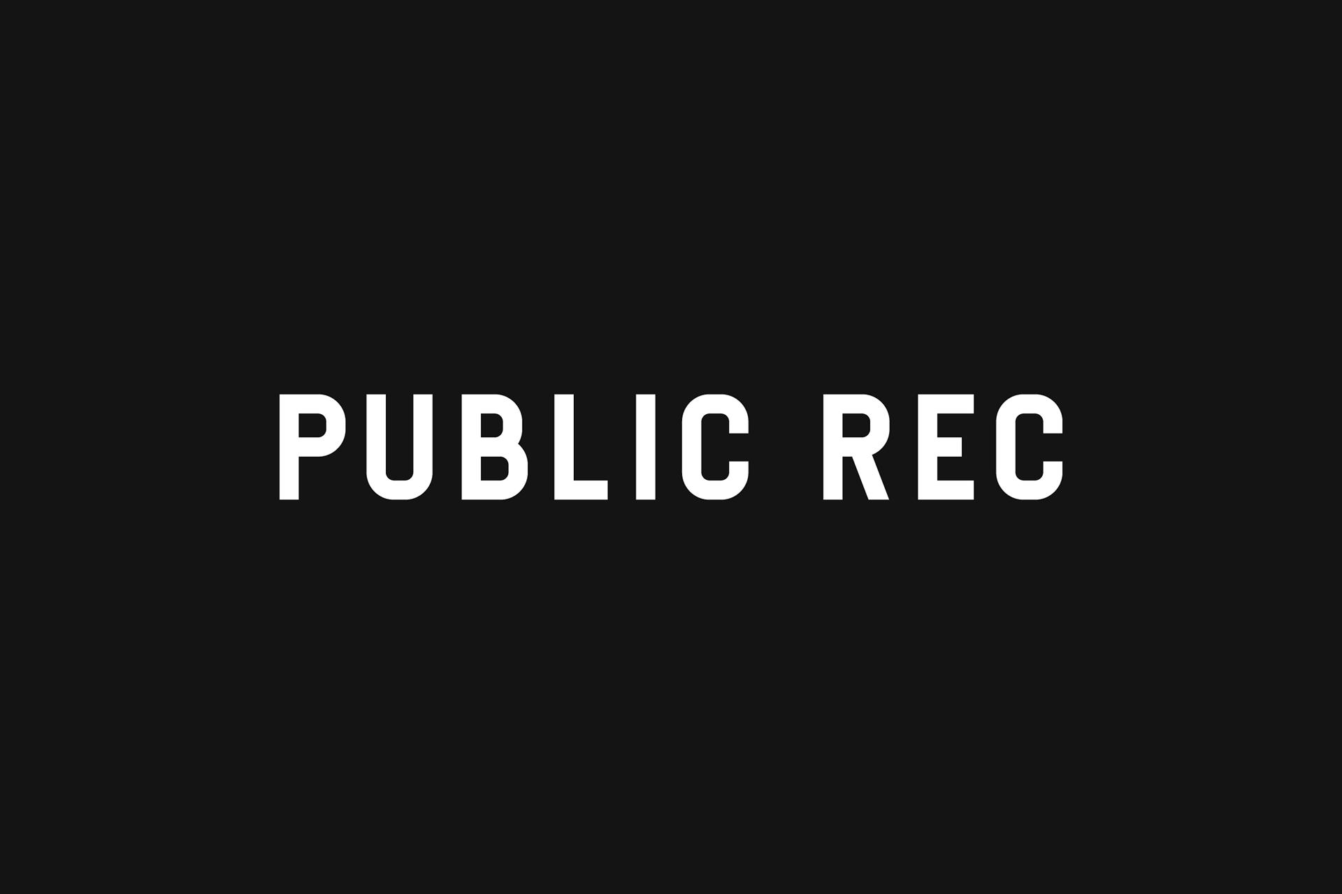 Public Rec - Menswear Branding on Behance