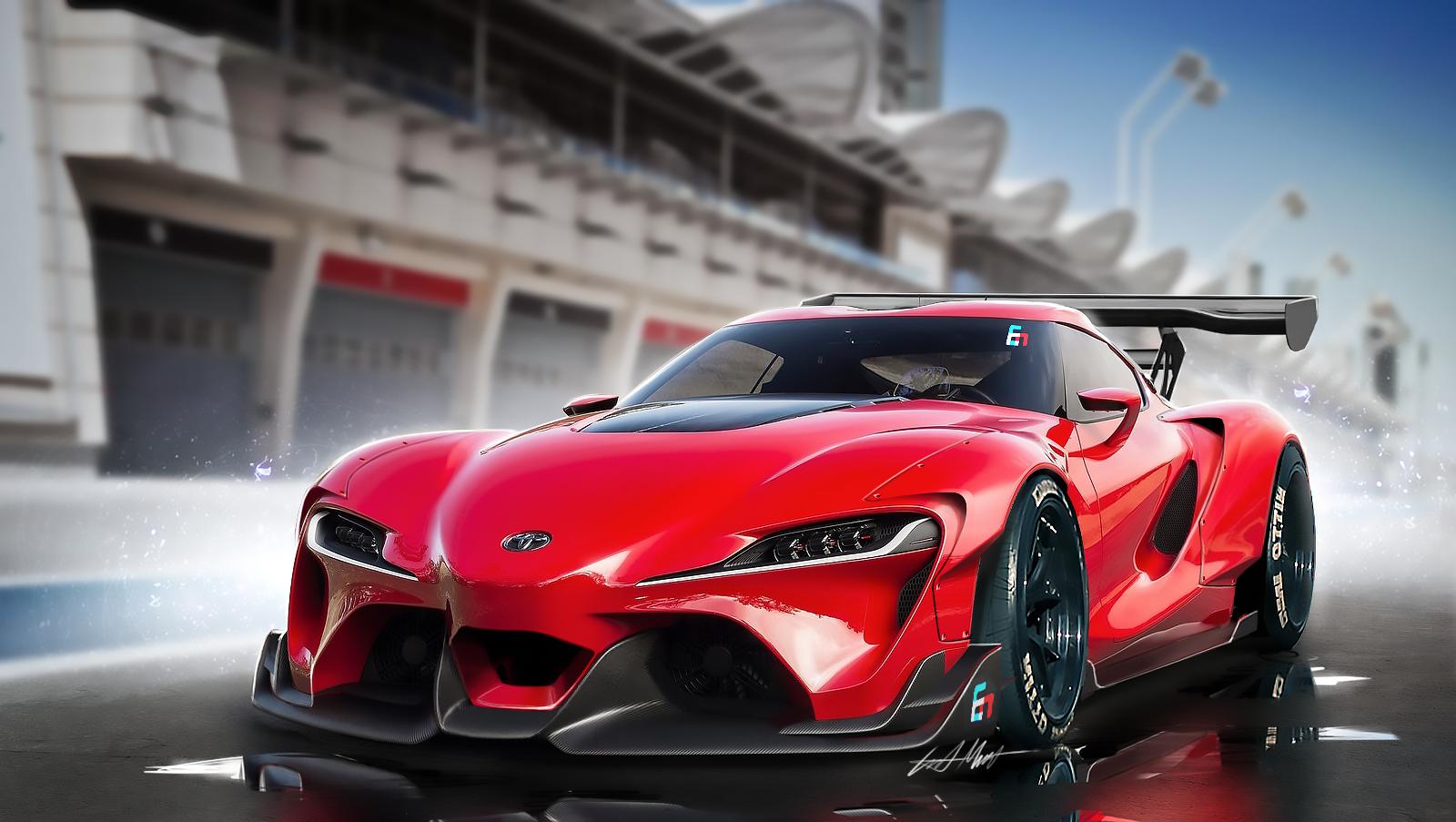 Toyota FT1 Wide Body Kit on Behance